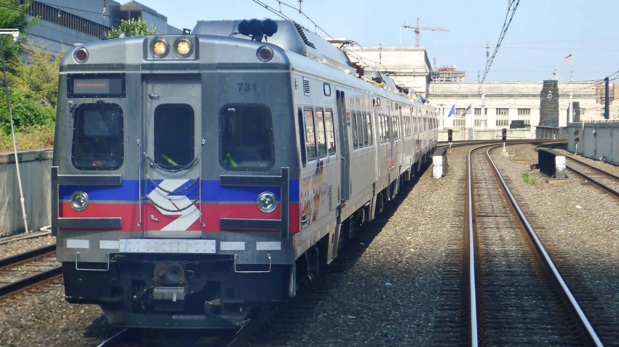Comboio em Filadélfia, Estados Unidos