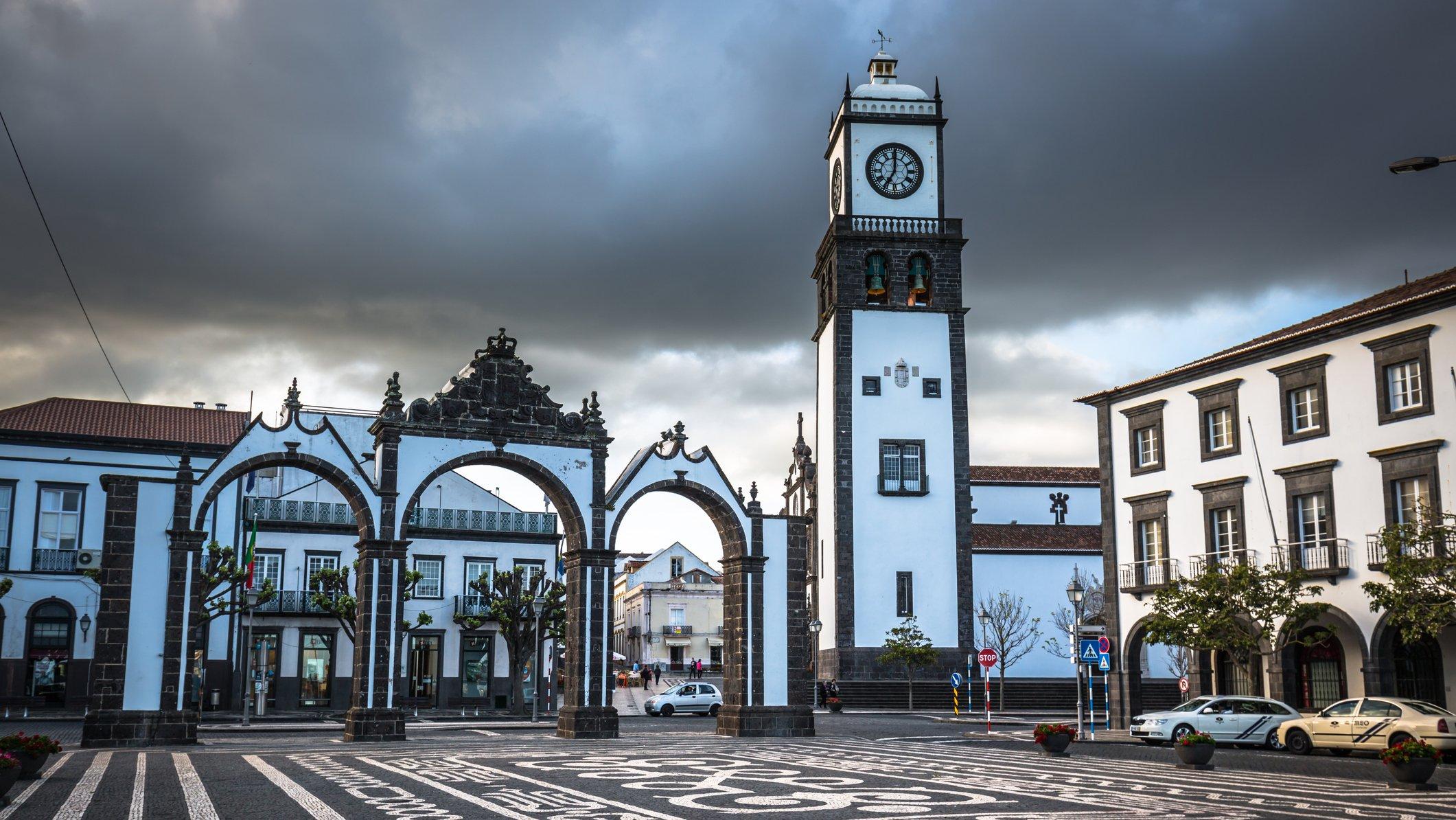 Ponta Delgada, Azores, Portugal - April 20, 2015