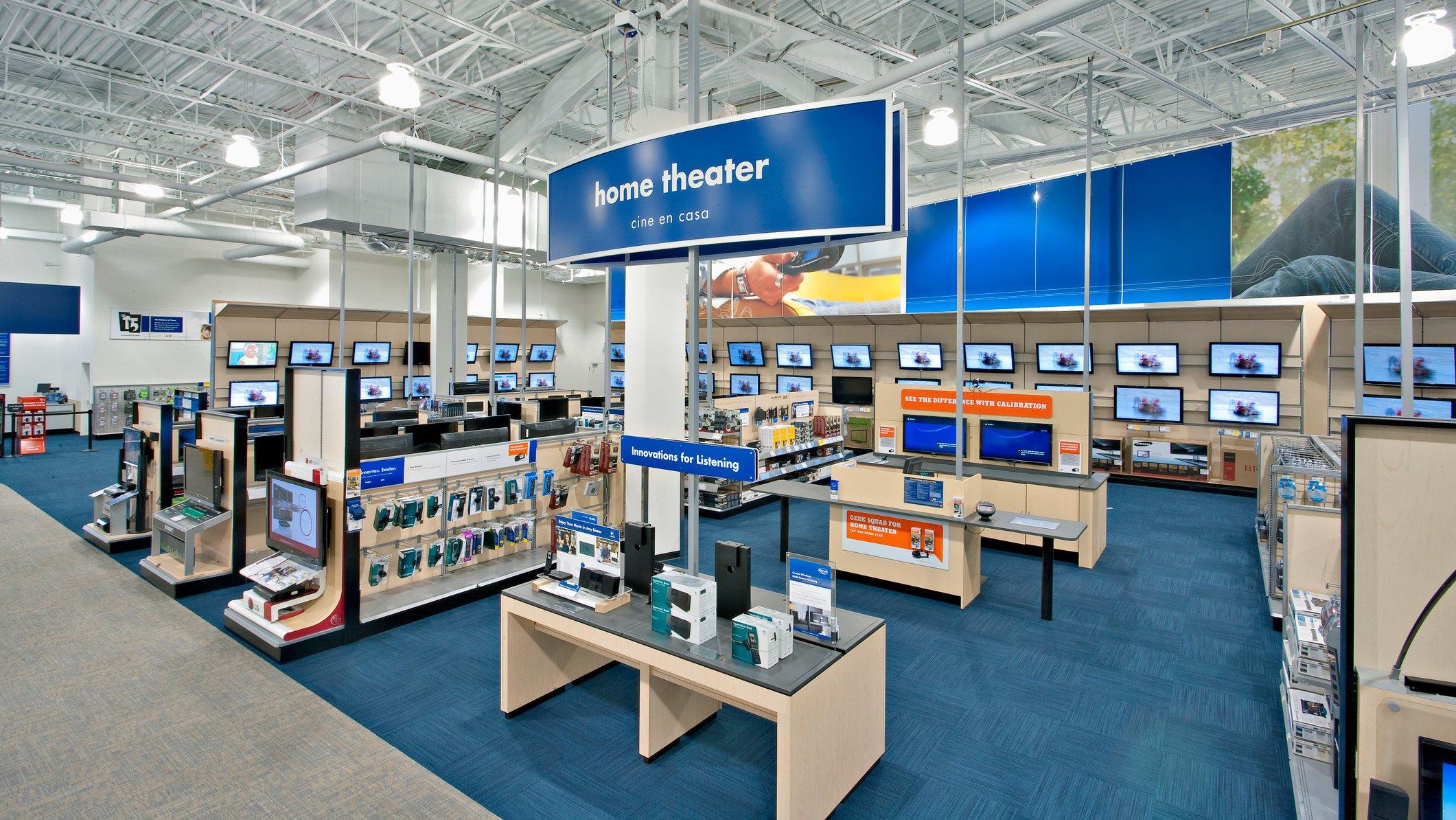 interior of Best Buy