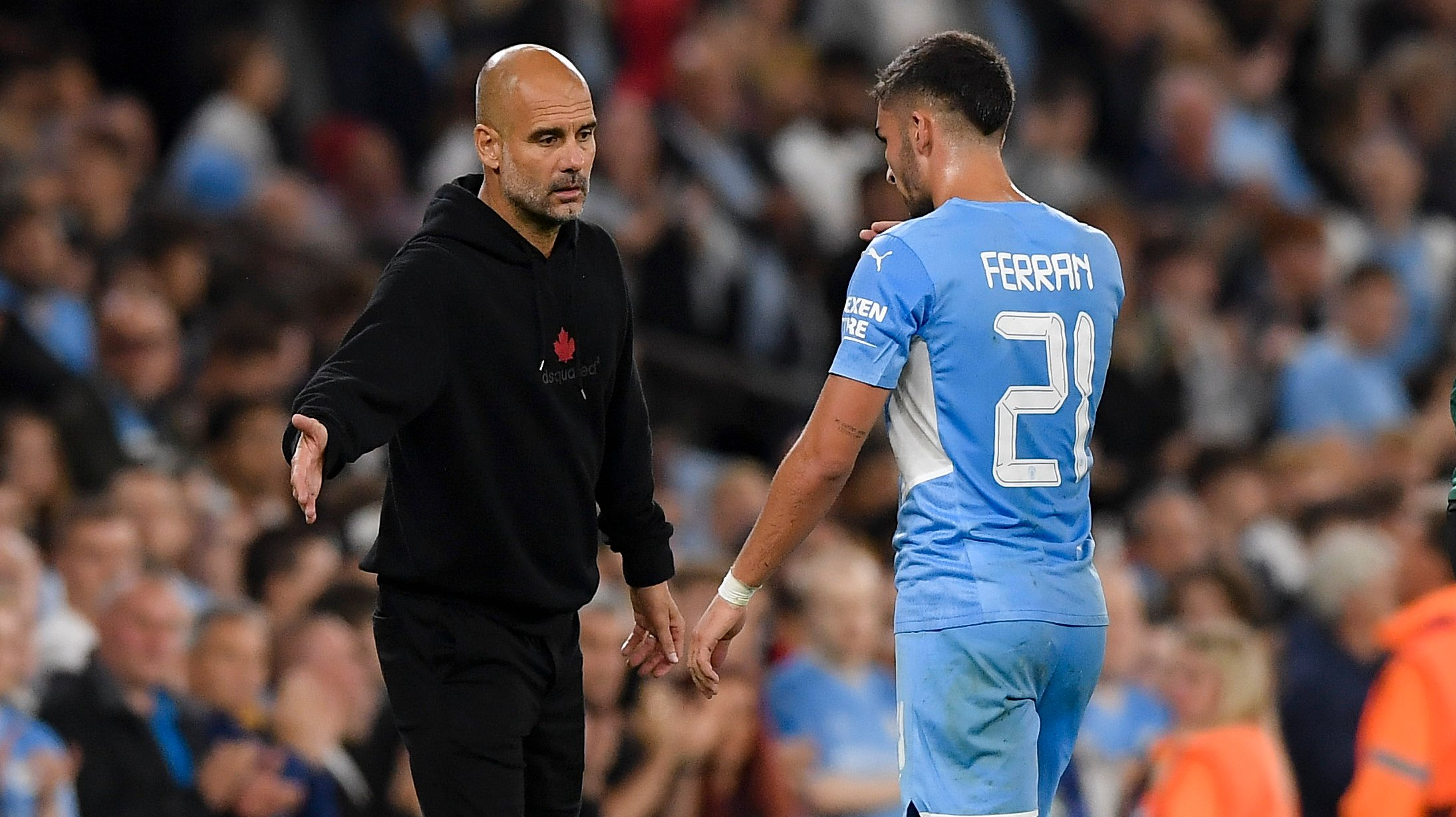 Manchester City v RB Leipzig - Group A - UEFA Champions League