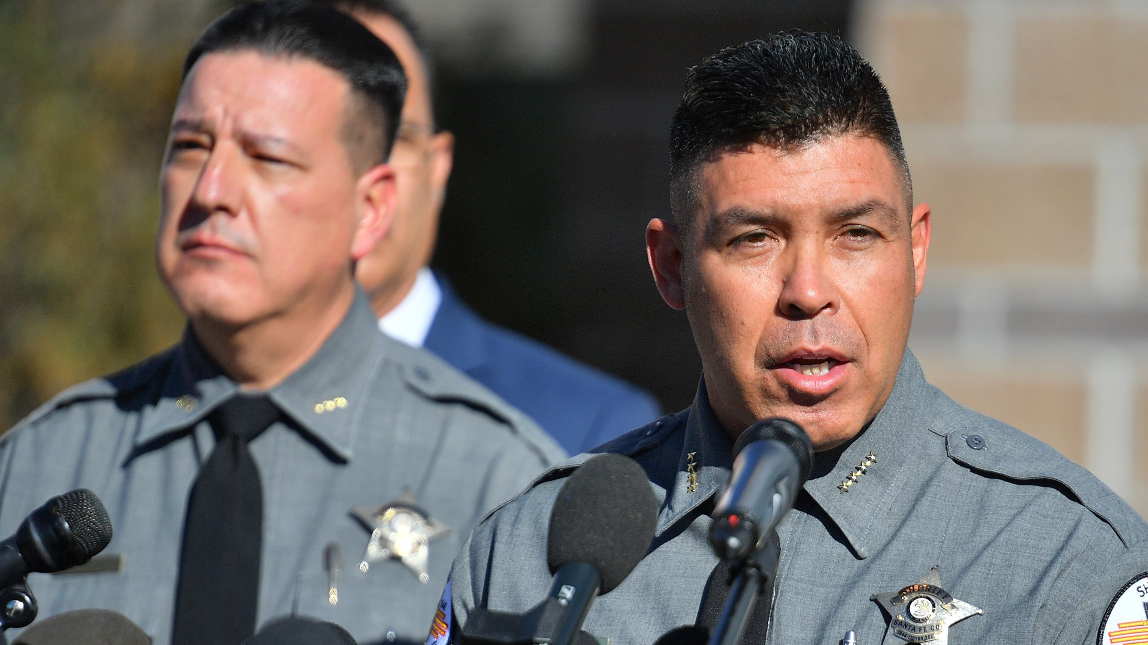 """Santa Fe County Sheriff's Office Holds Press Conference Regarding """"Rust"""" On Set Shooting Accident With Alec Baldwin"""