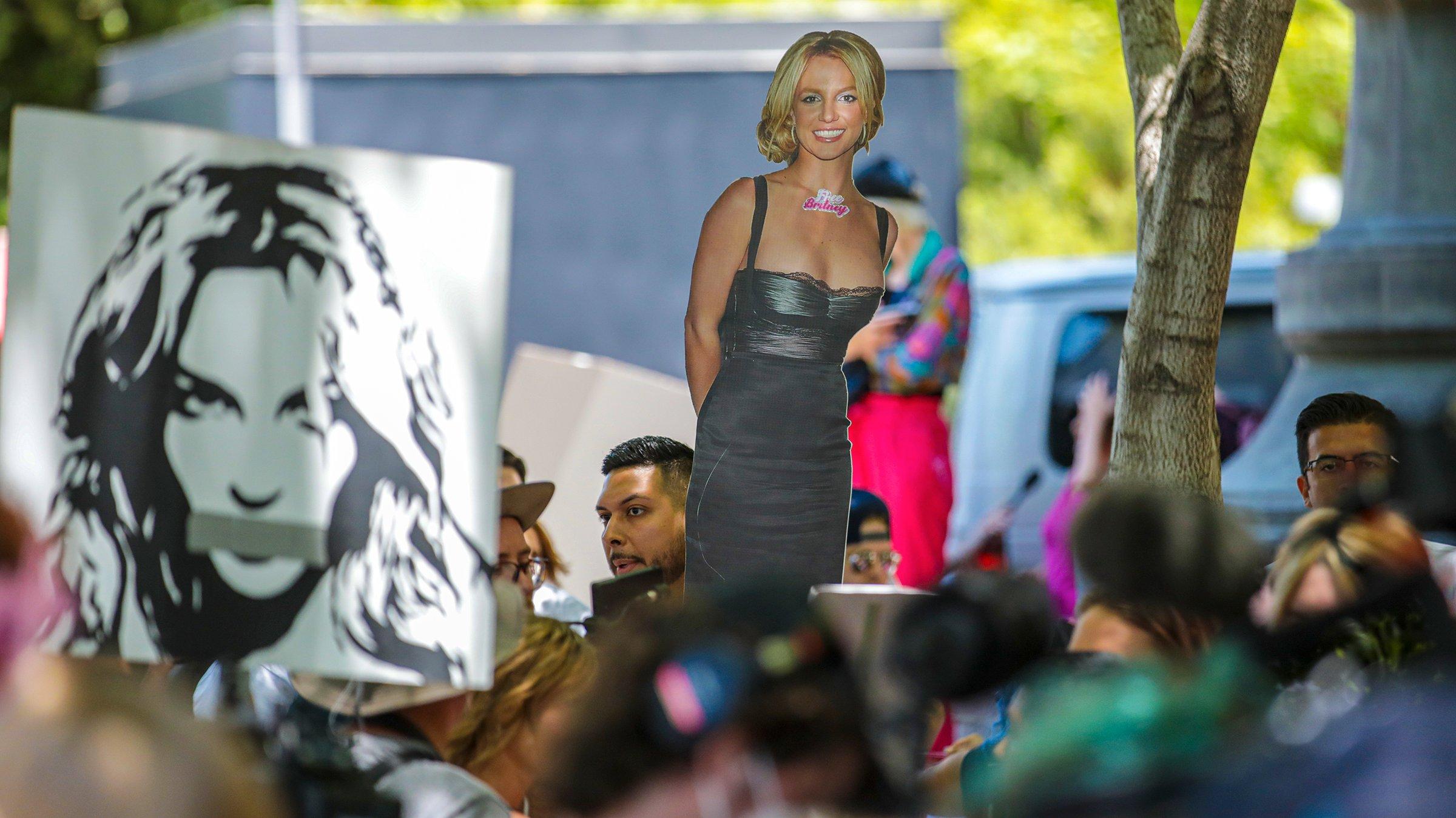 Britney Spears conservatorship case.