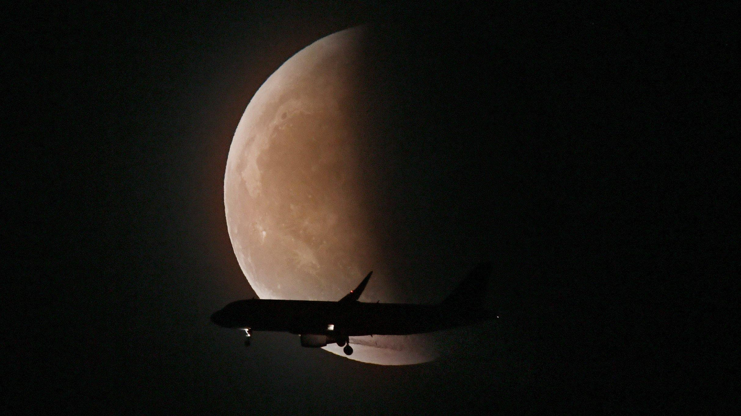 Total Lunar Eclipse In China