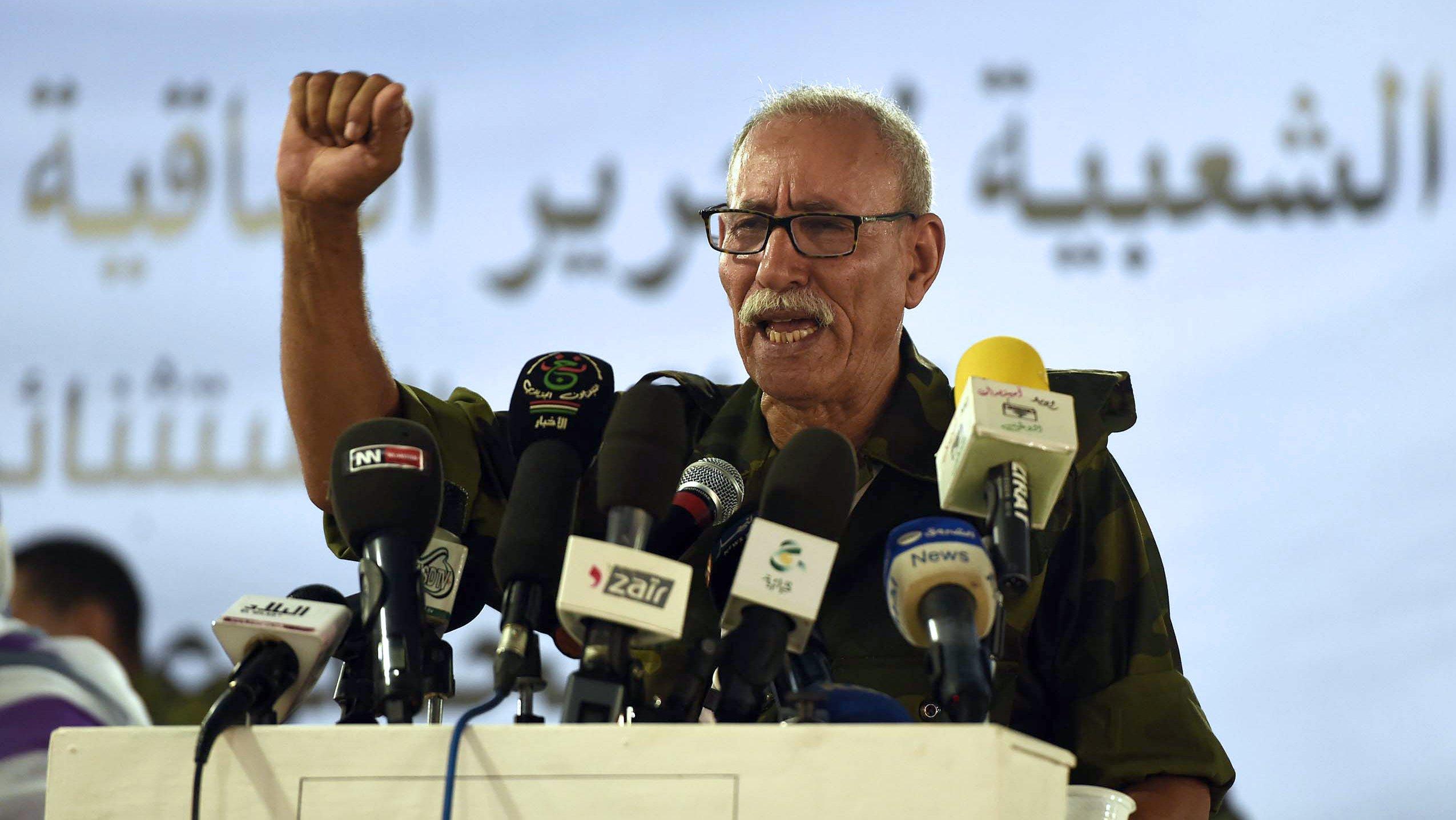 ALGERIA-WSAHARA-POLITICS-POLISARIO-GHALI