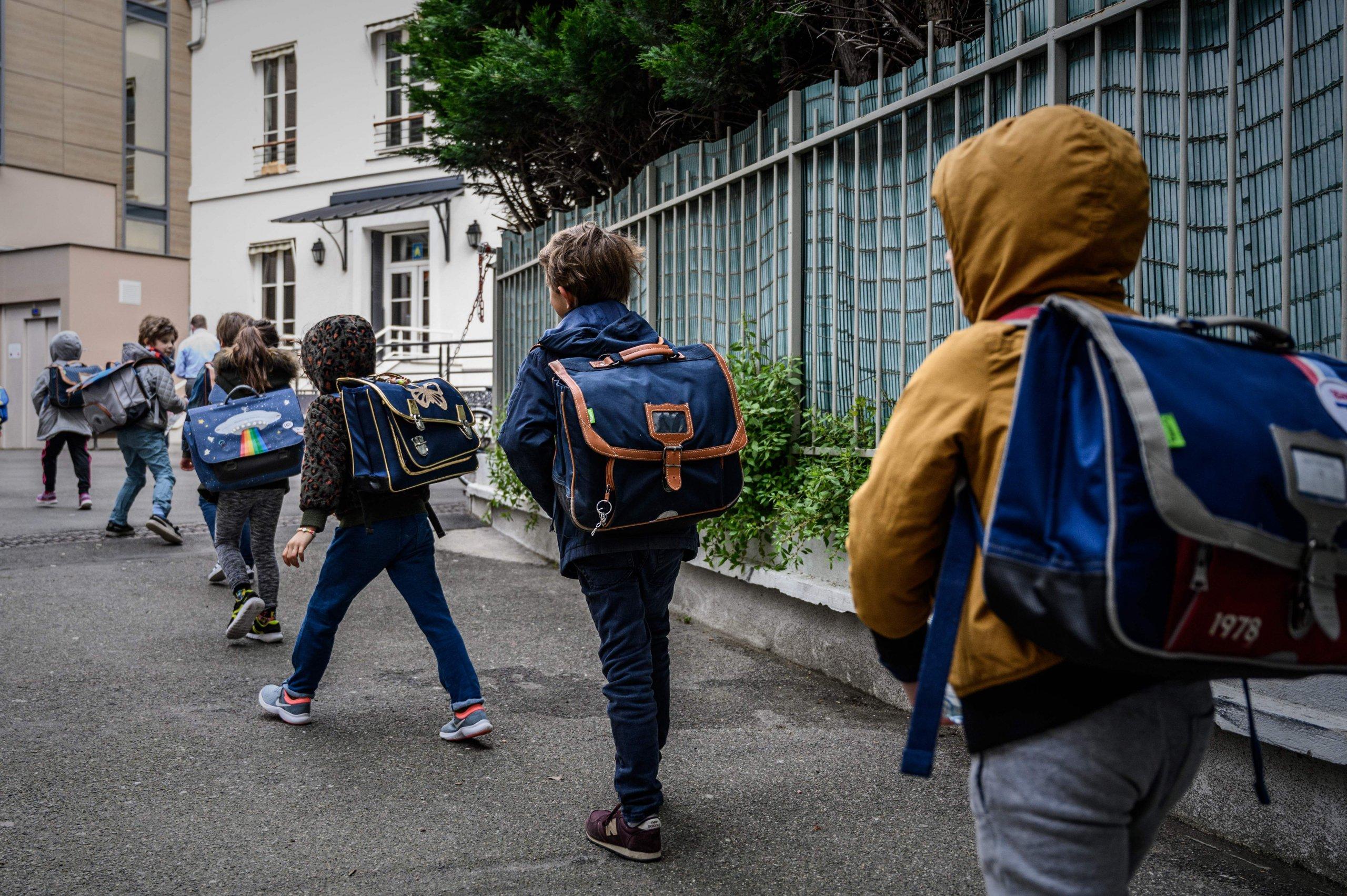 FRANCE-HEALTH-VIRUS-SCHOOLS