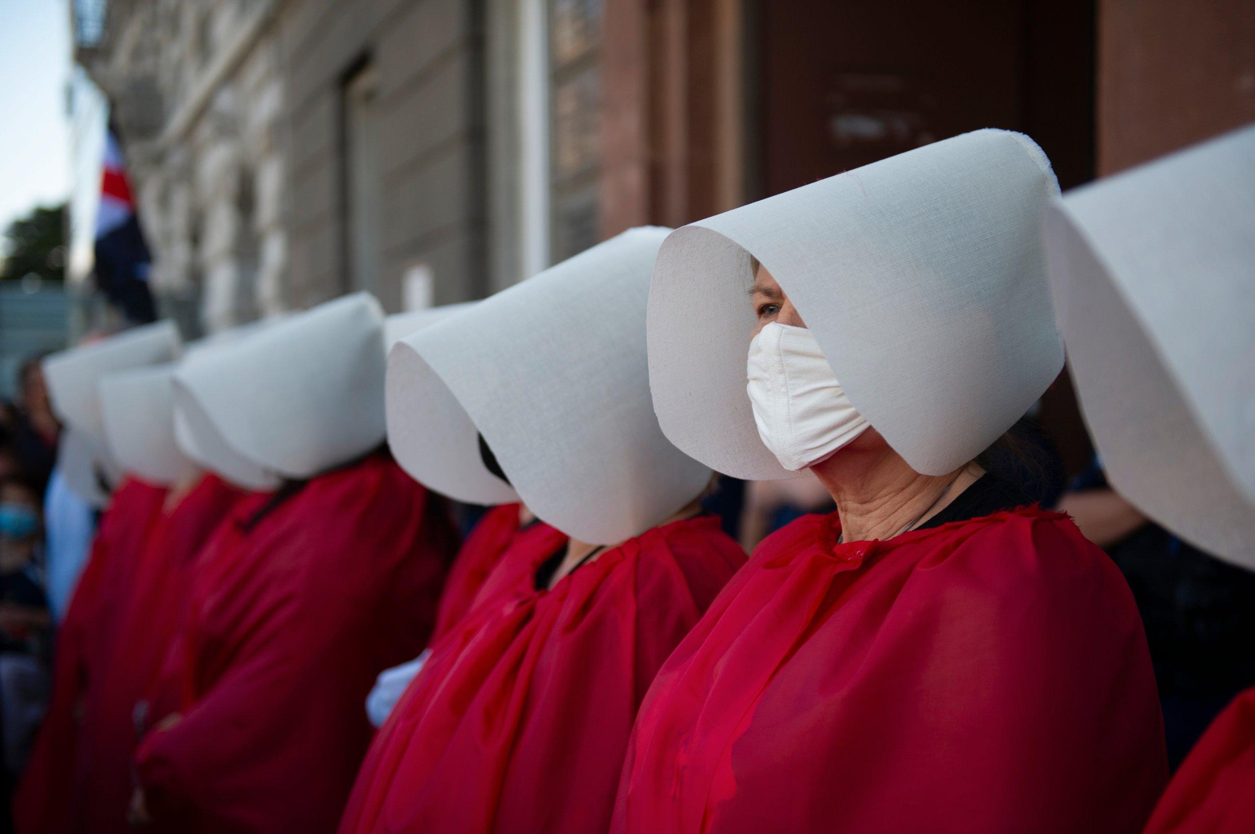 Anti-Domestic Violence Protest In Warsaw