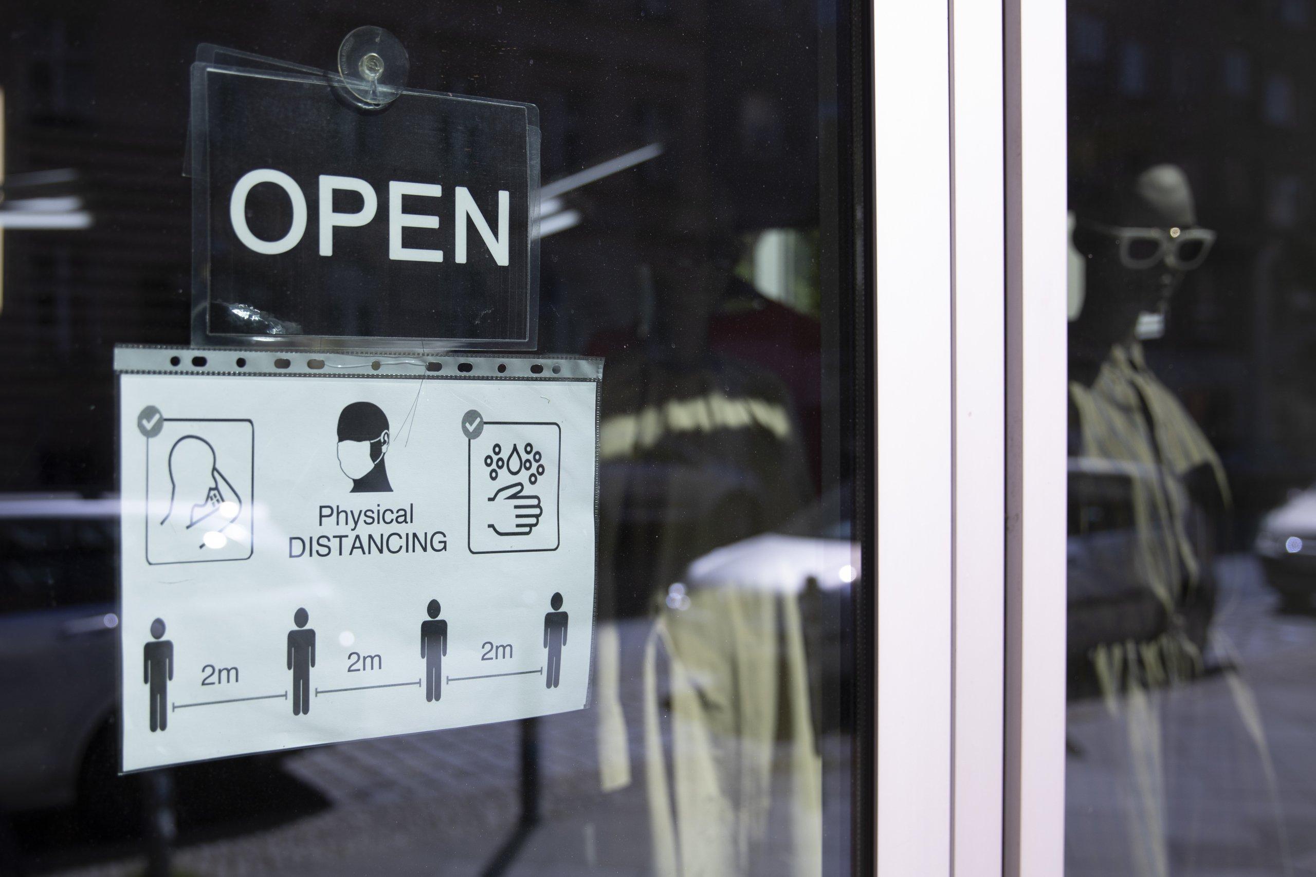 Stores Reopen In Berlin As Coronavirus Lockdown Eases