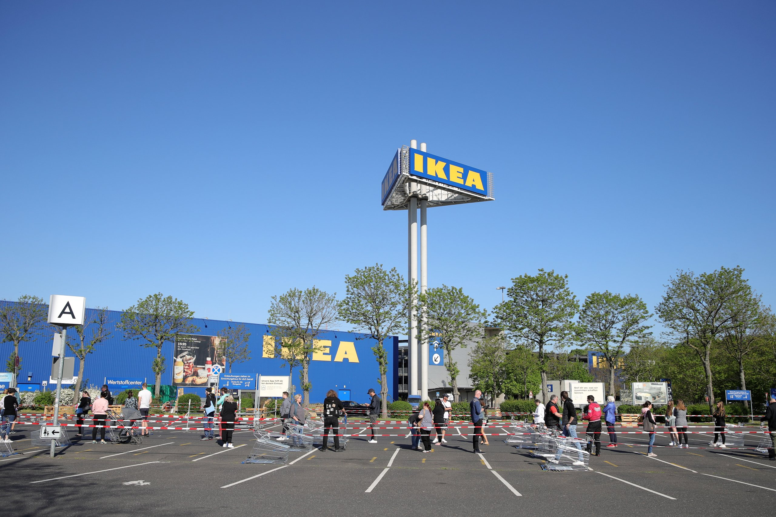 IKEA Starts To Reopen Stores In North Rhine-Westphalia