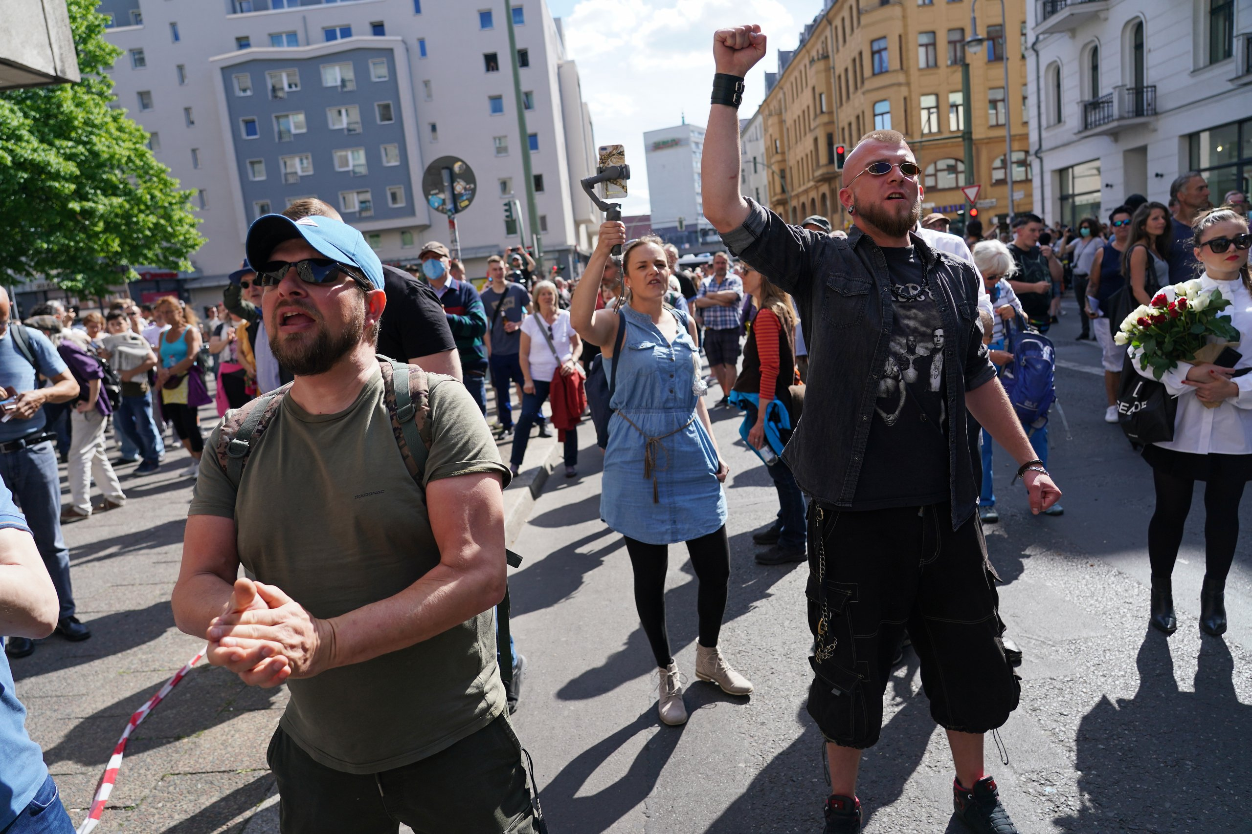 Protesters Rally Aganist Government Lockdown Policies