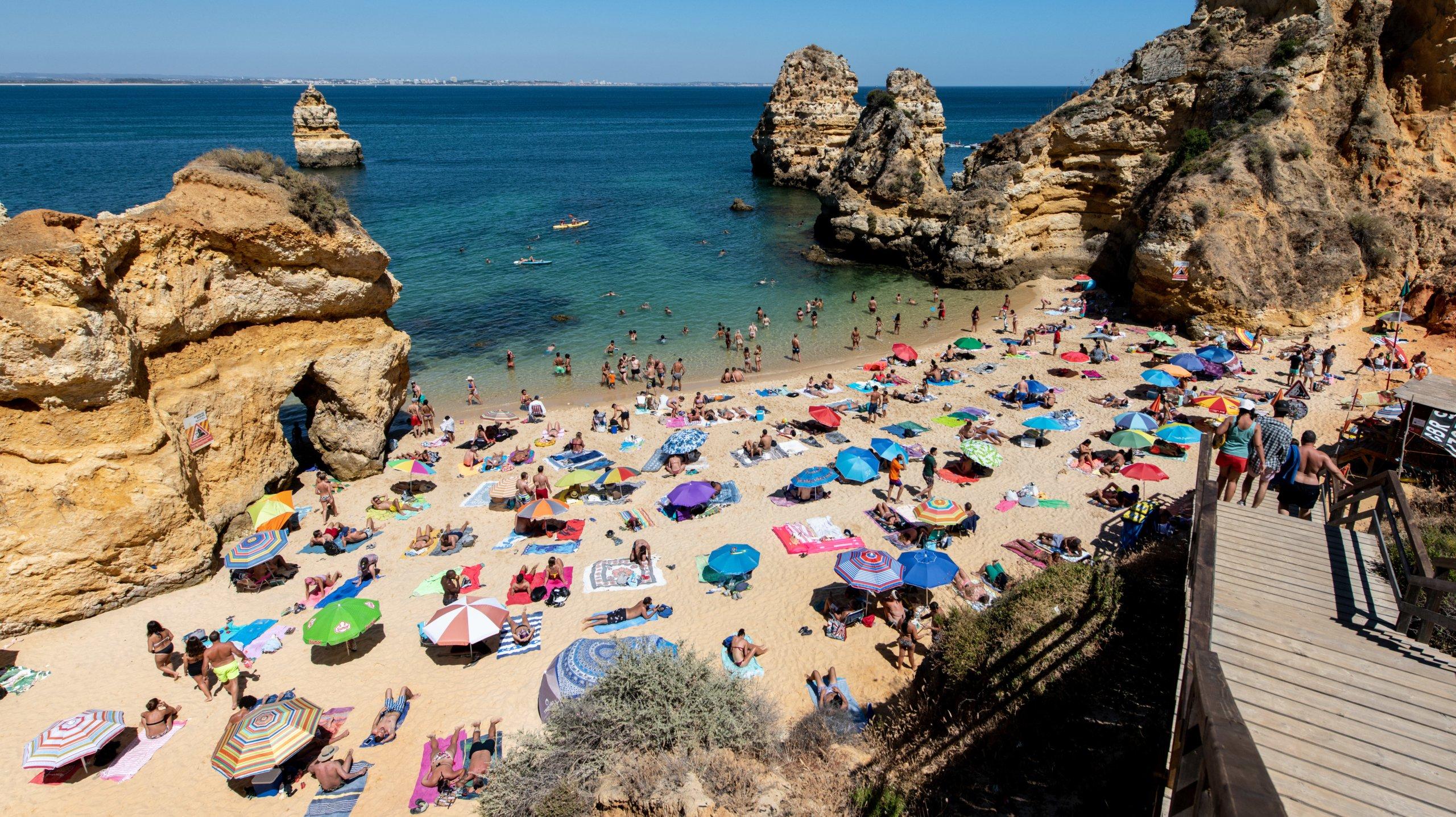 Beach life in the Algarve