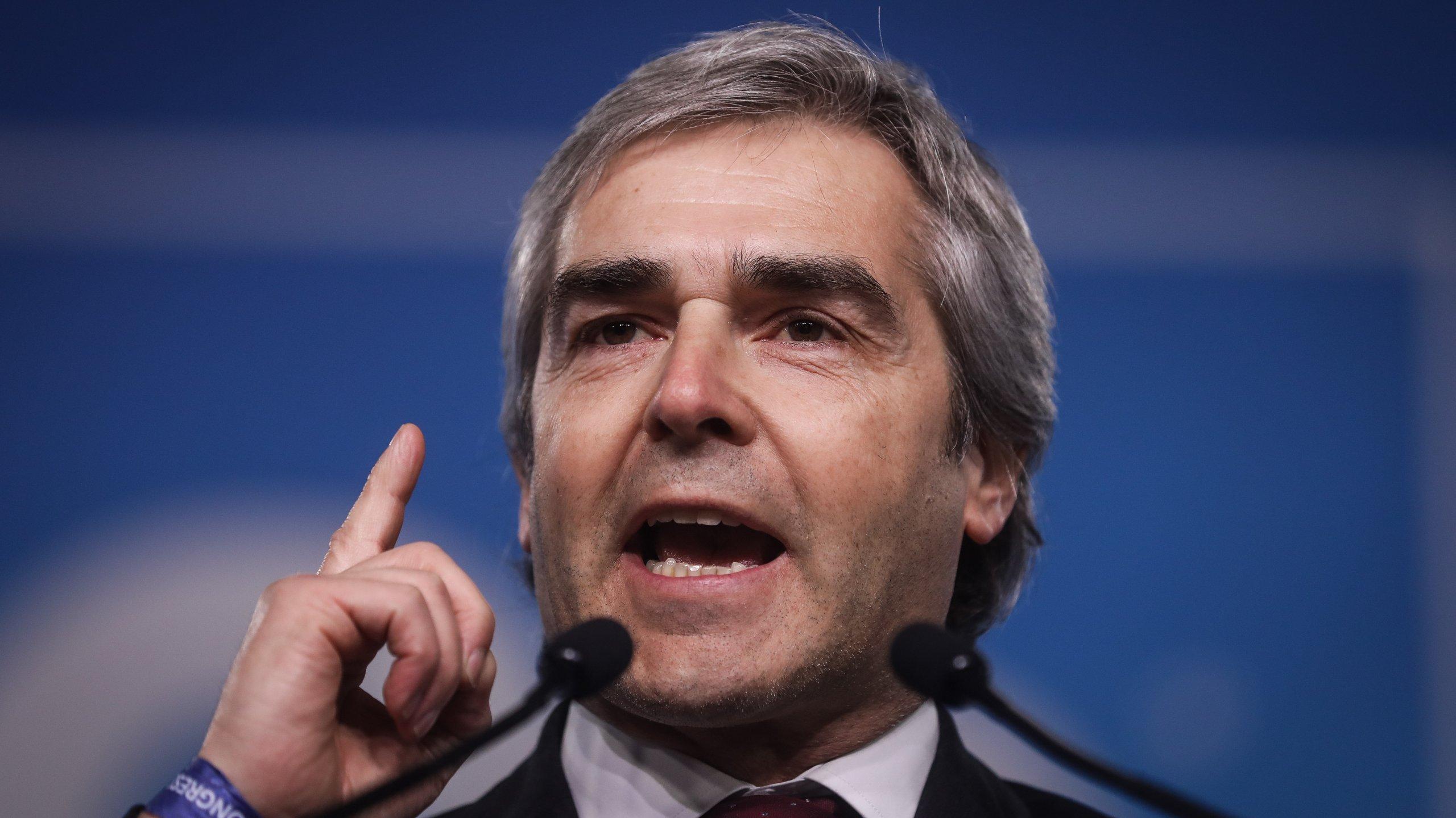 28º Congresso do CDS: Discurso de Nuno Melo onde anunciou o apoio à moção de João Almeida no 28º Congresso do CDS que se realiza nos dias 25 e 26 de janeiro em Aveiro.
