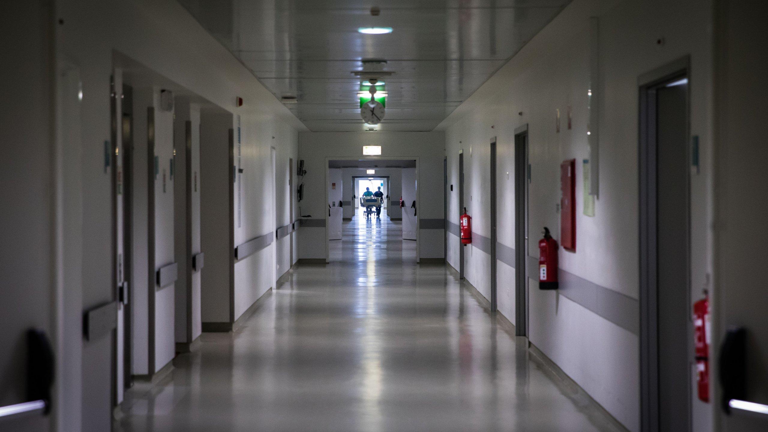 Reportagem nos cuidados intensivos do Hospital de Braga