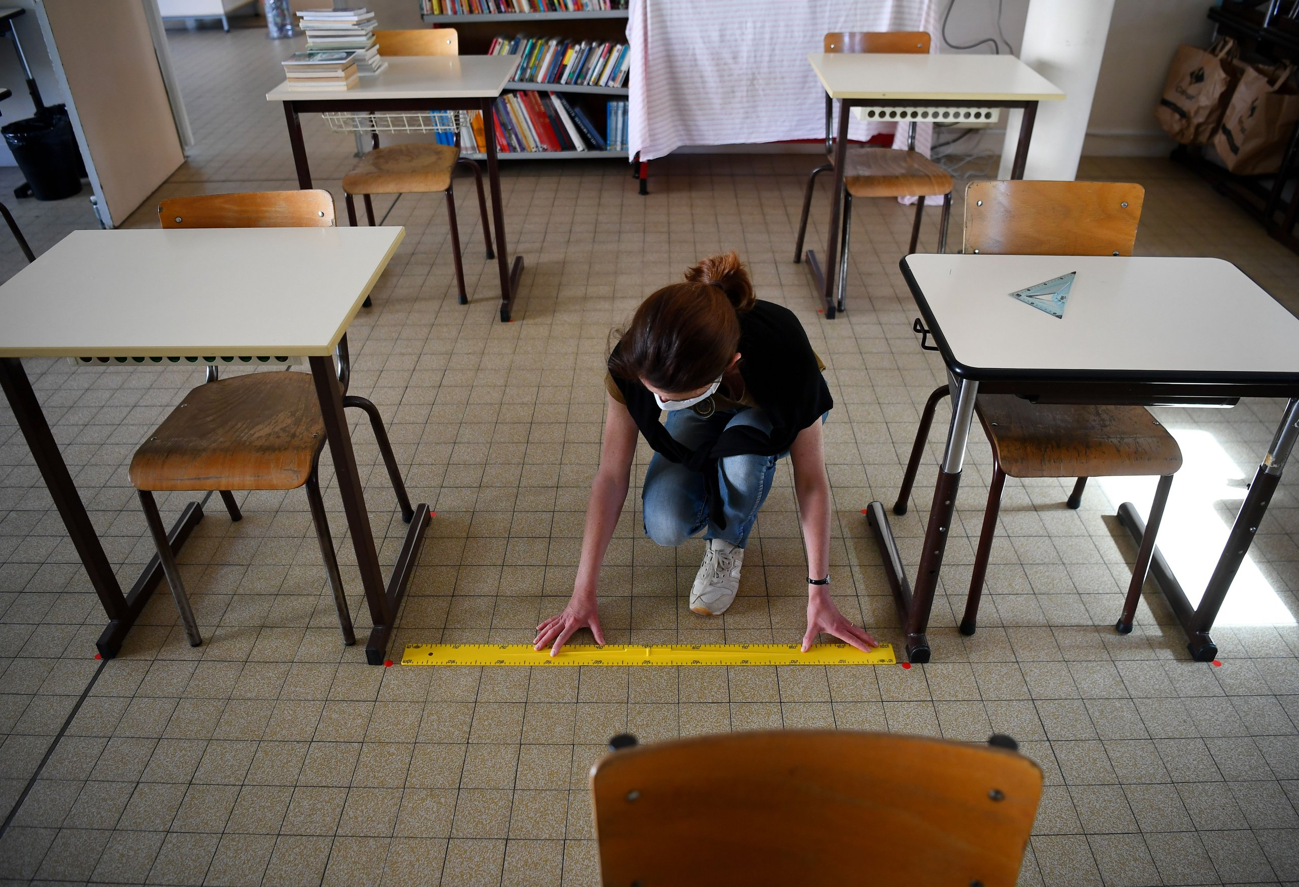 FRANCE-HEALTH-VIRUS-SCHOOL