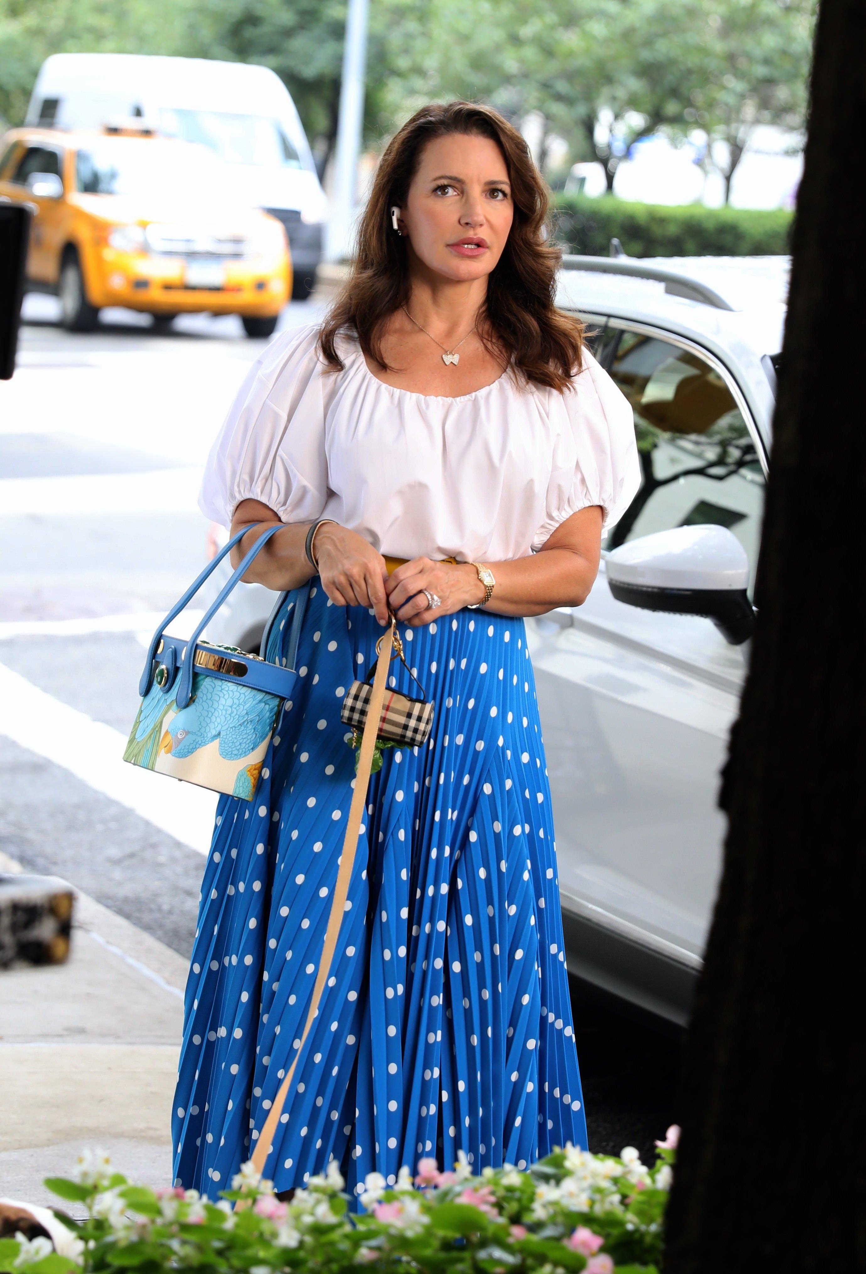 Celebrity Sightings In New York - July 12, 2021