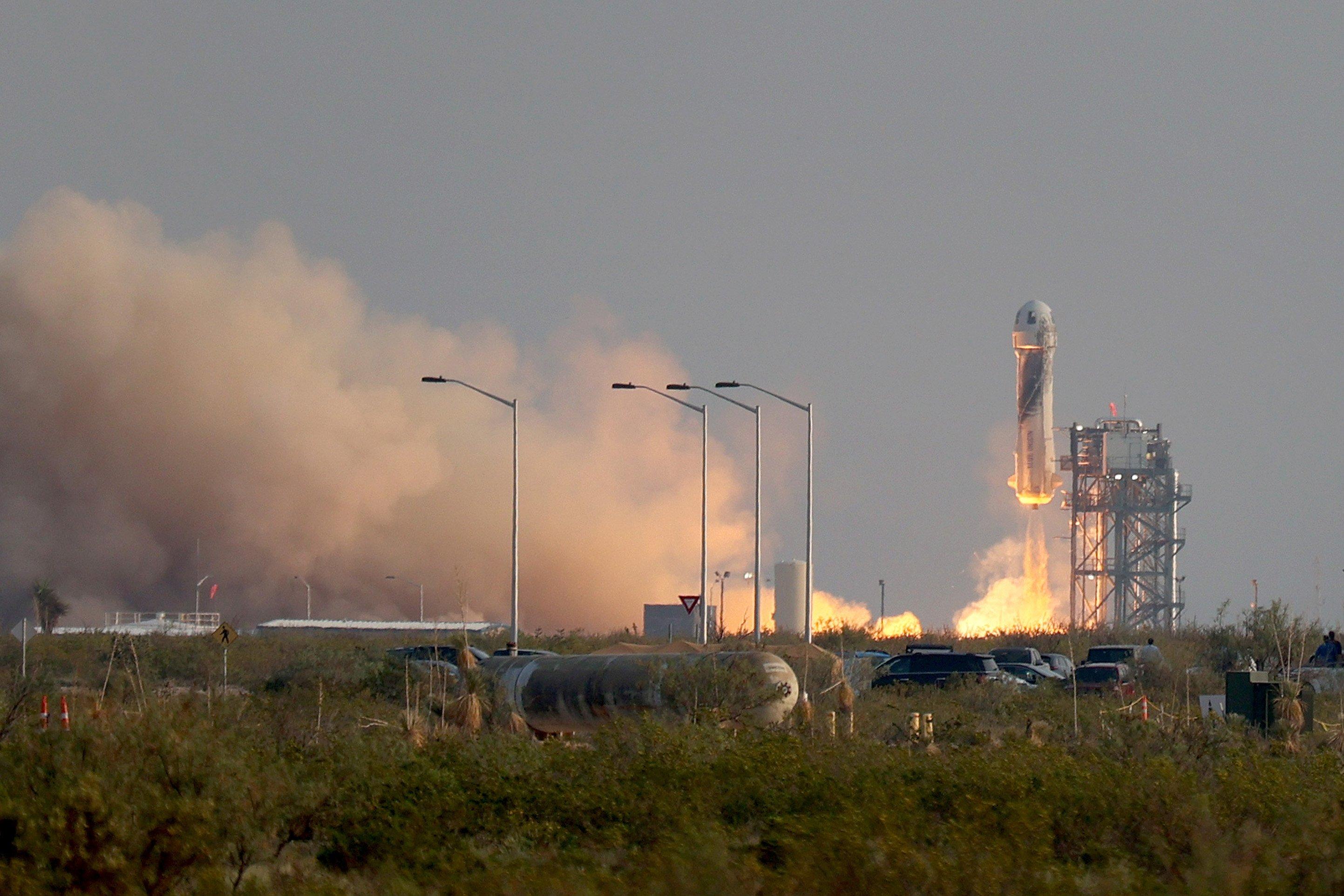 Blue Origin Launch