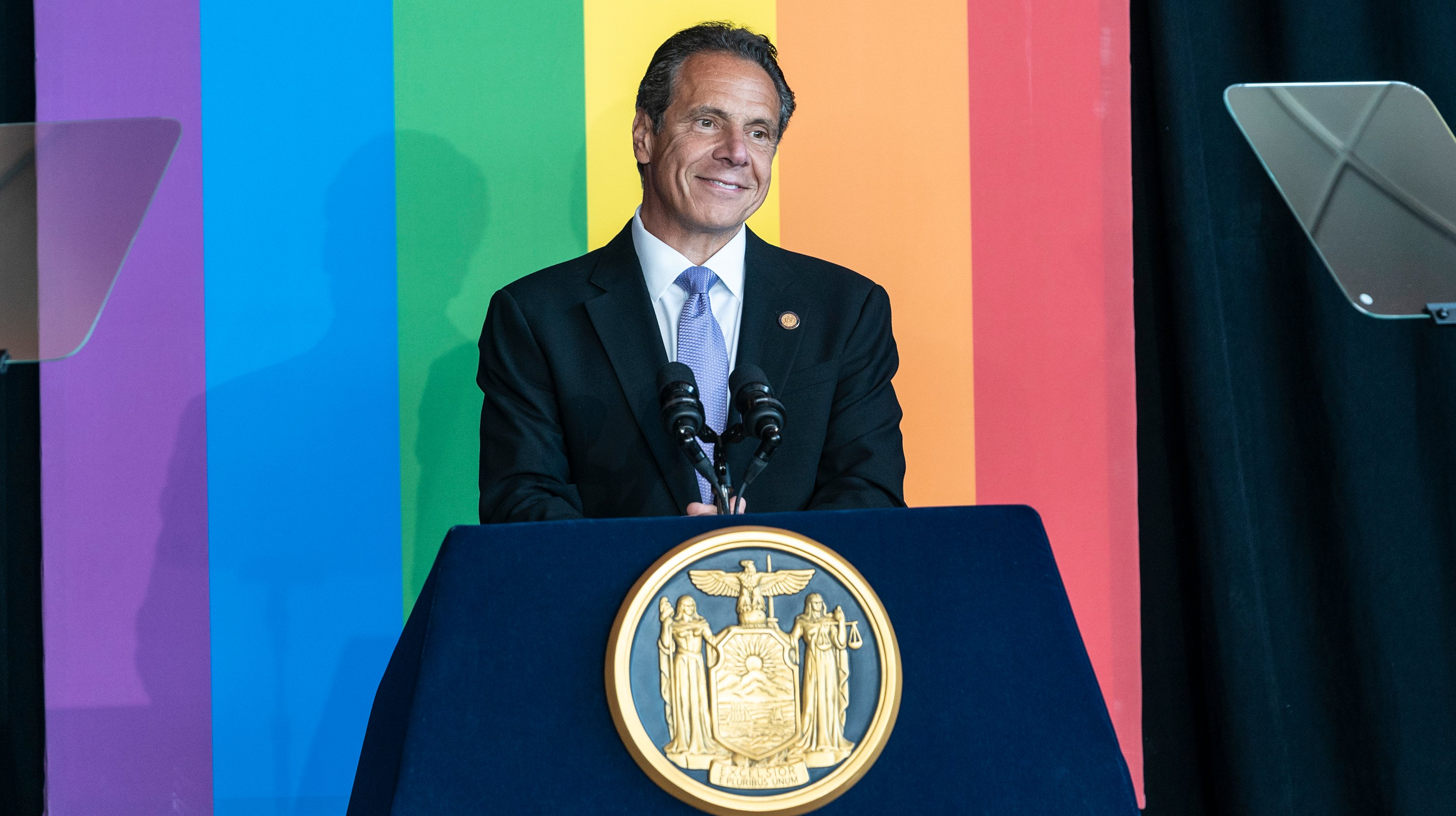 Governor Cuomo and members of LGBTQ community celebrate 10