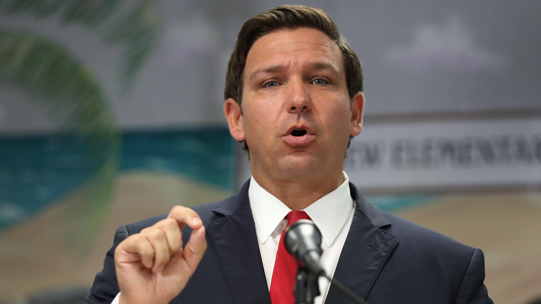 Florida Gov. Ron DeSantis Announces  Proposal To Increase Minimum Salary For Florida Teachers