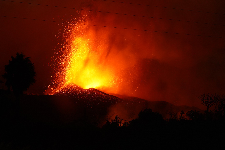 Thousands Evacuated As Volcano Erupts On Spain's La Palma Island