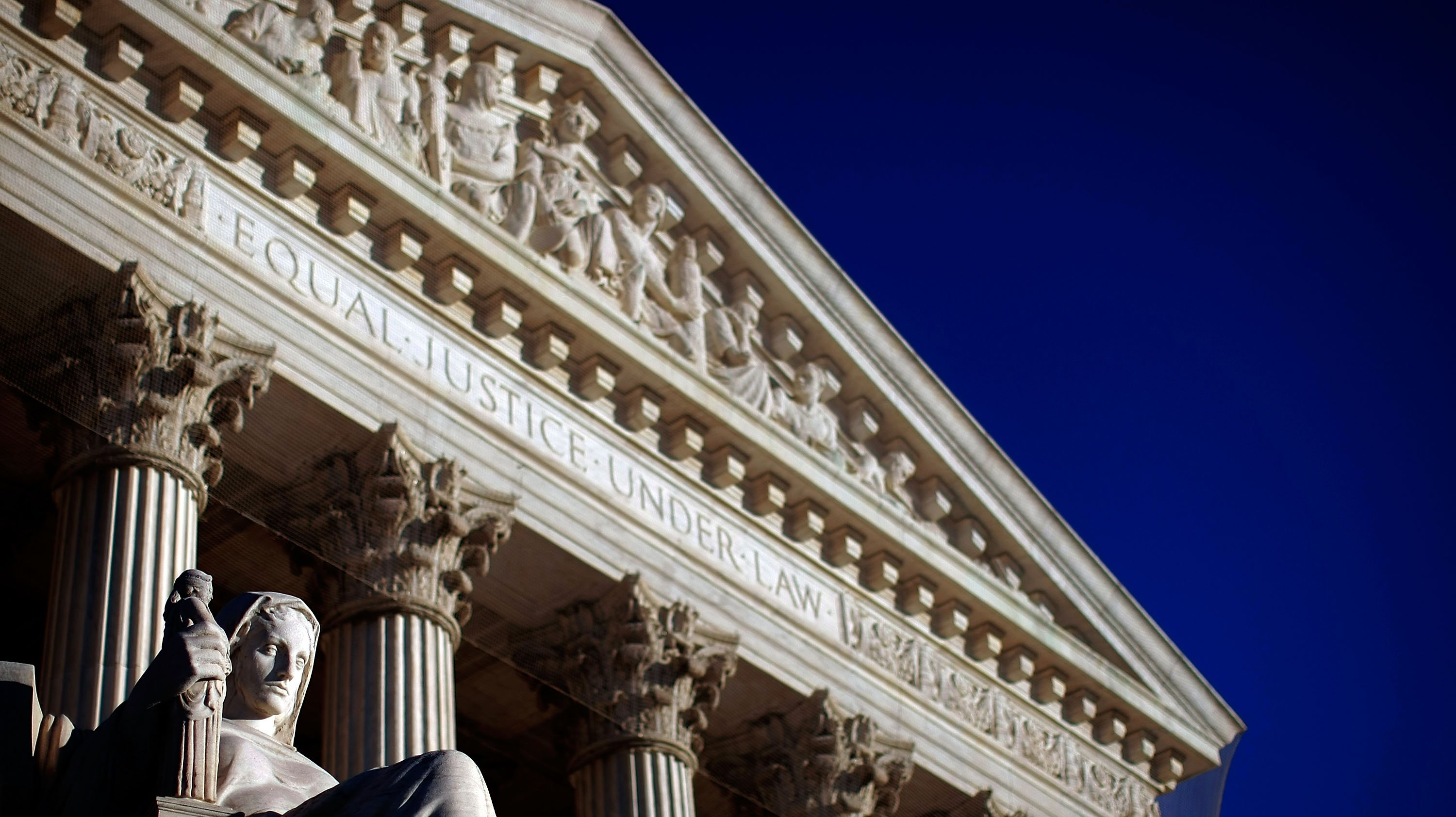 Exterior Views Of The Supreme Court