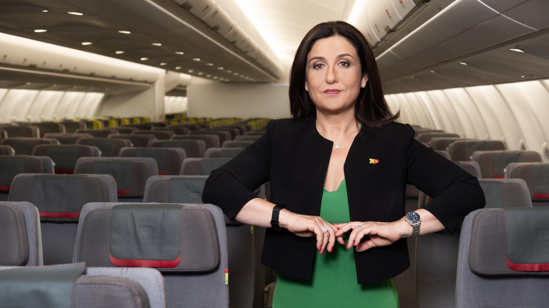 Presidente executiva da TAP Christine Ourmières-Widener DR