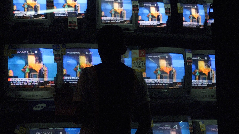 Guatemalans Watch World Trade Center Disaster