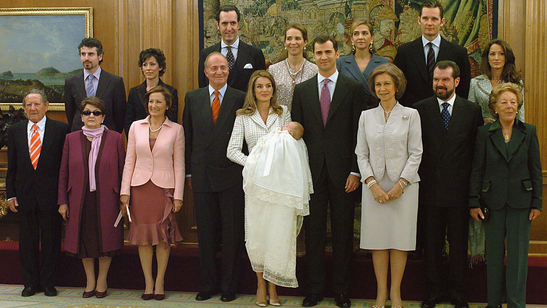 Spanish Royals Christen Princess Leonor
