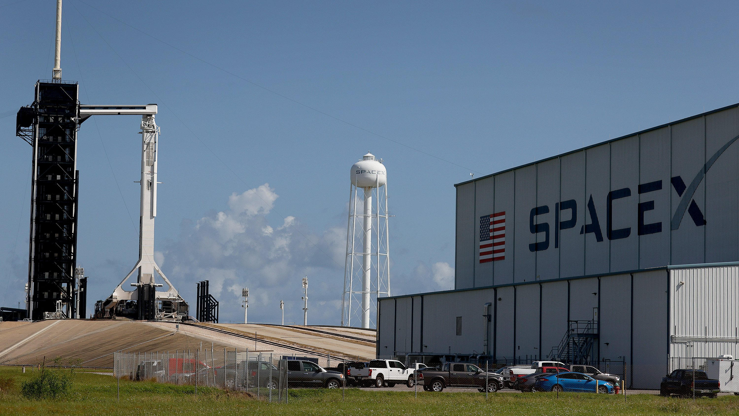 Space X Prepares To Launch First Civilian Mission To Space