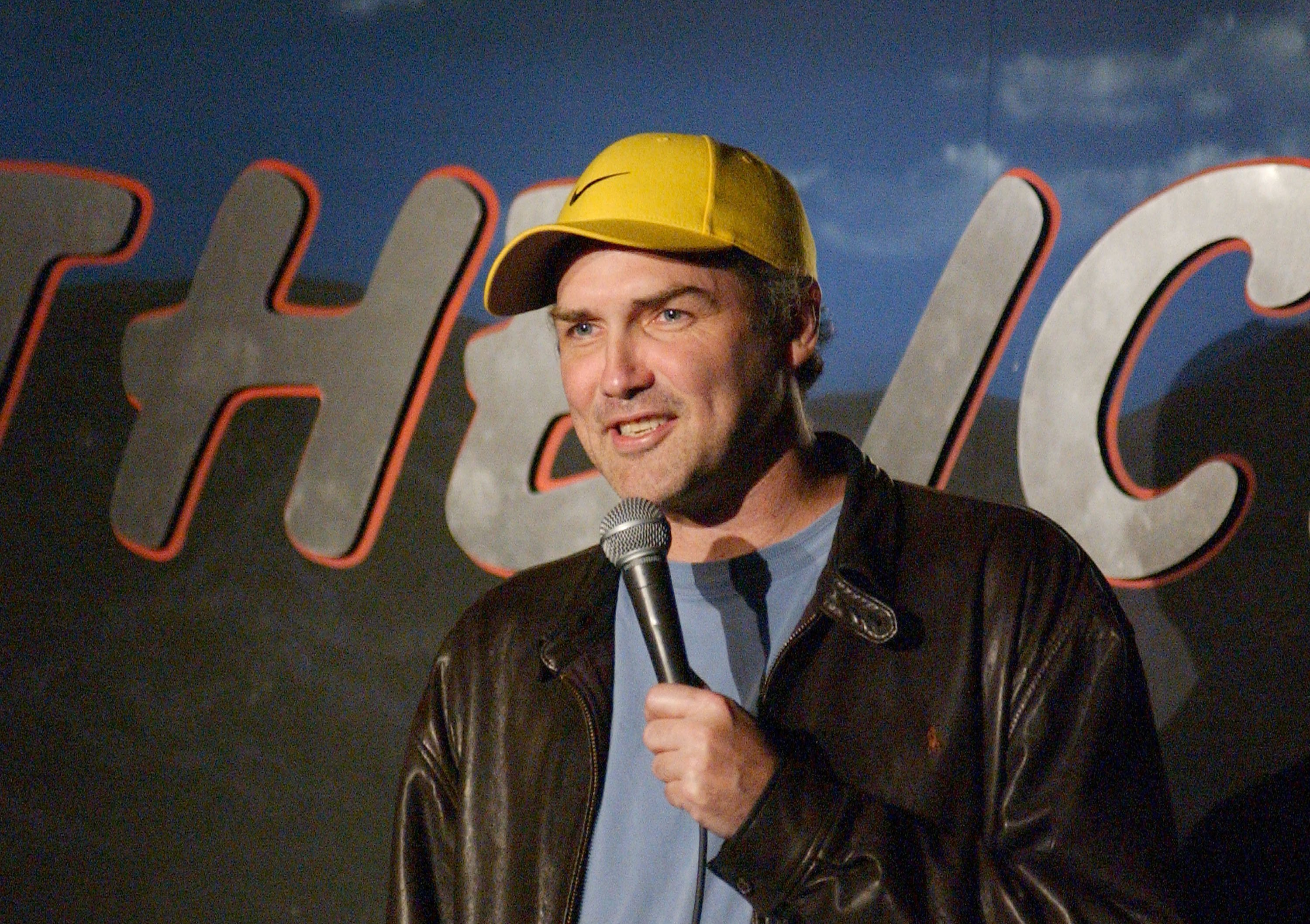 Comedian Norm MacDonald Performs at The Ice House