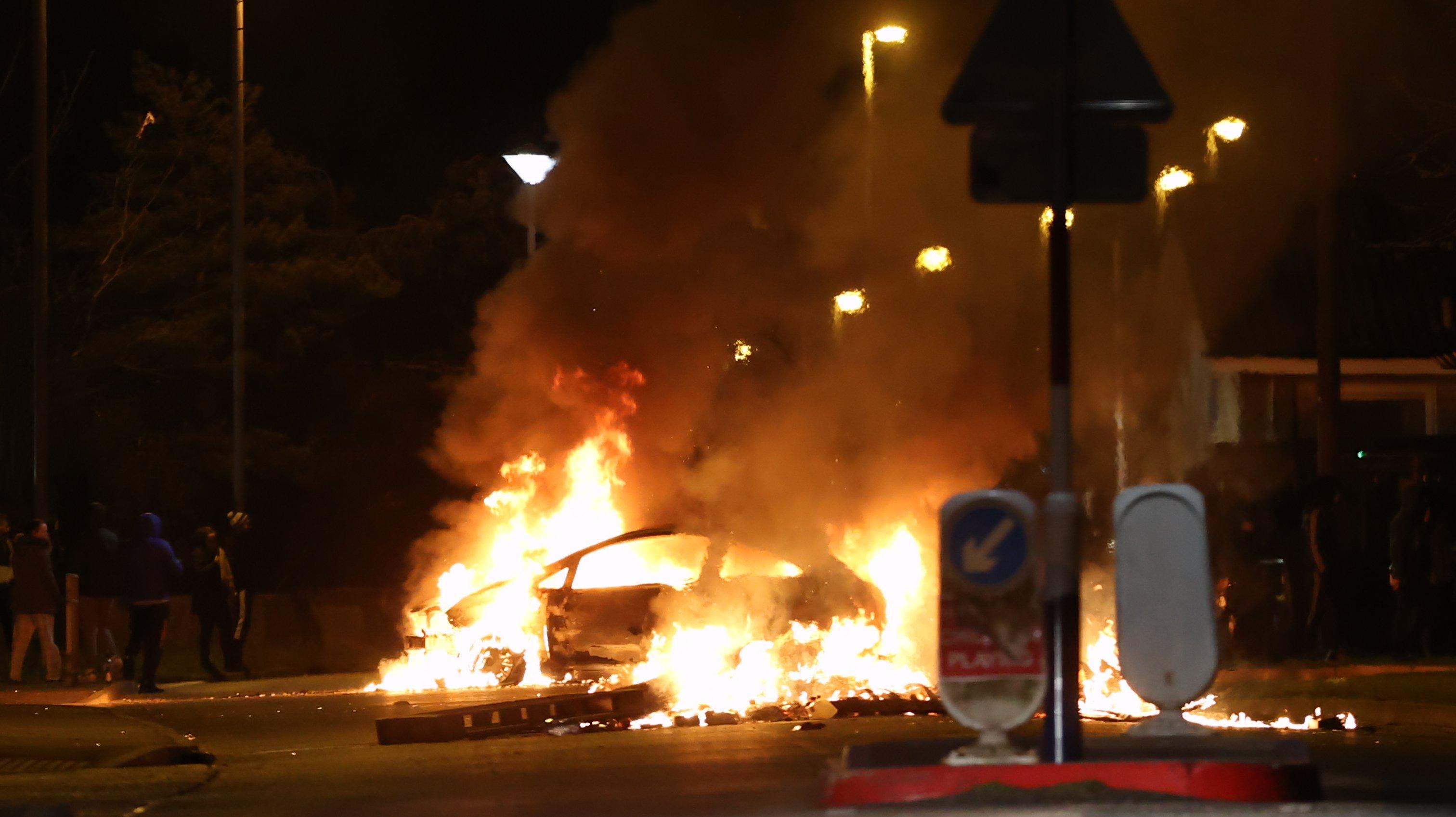 Northern Ireland unrest