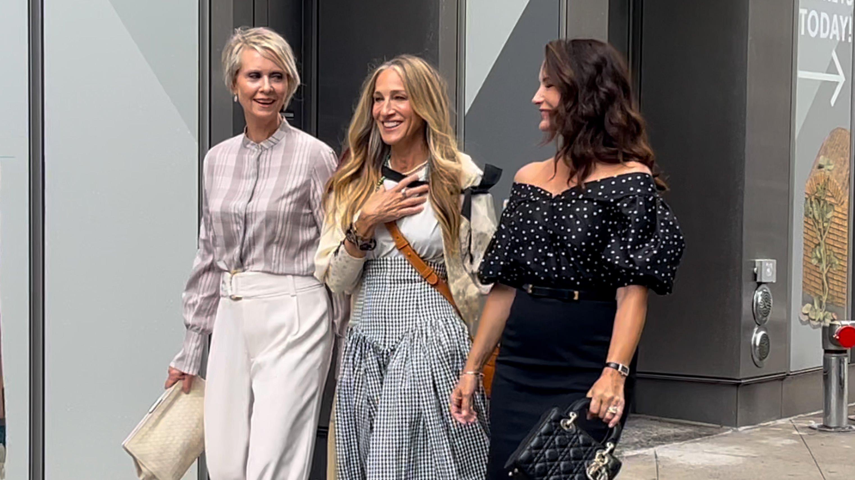 Celebrity Sightings In New York - July 09, 2021