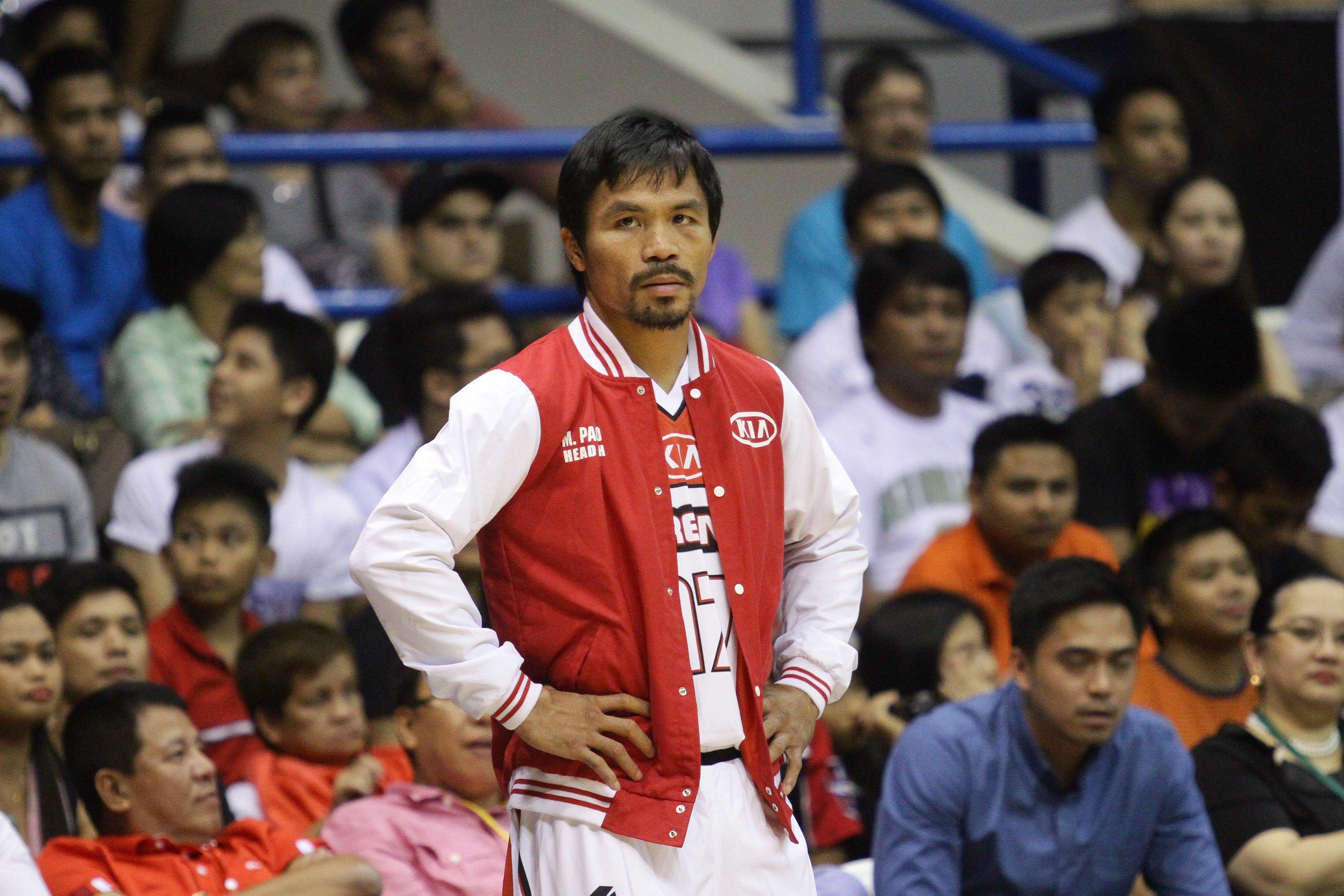 Manny Pacquaio returns to basketball