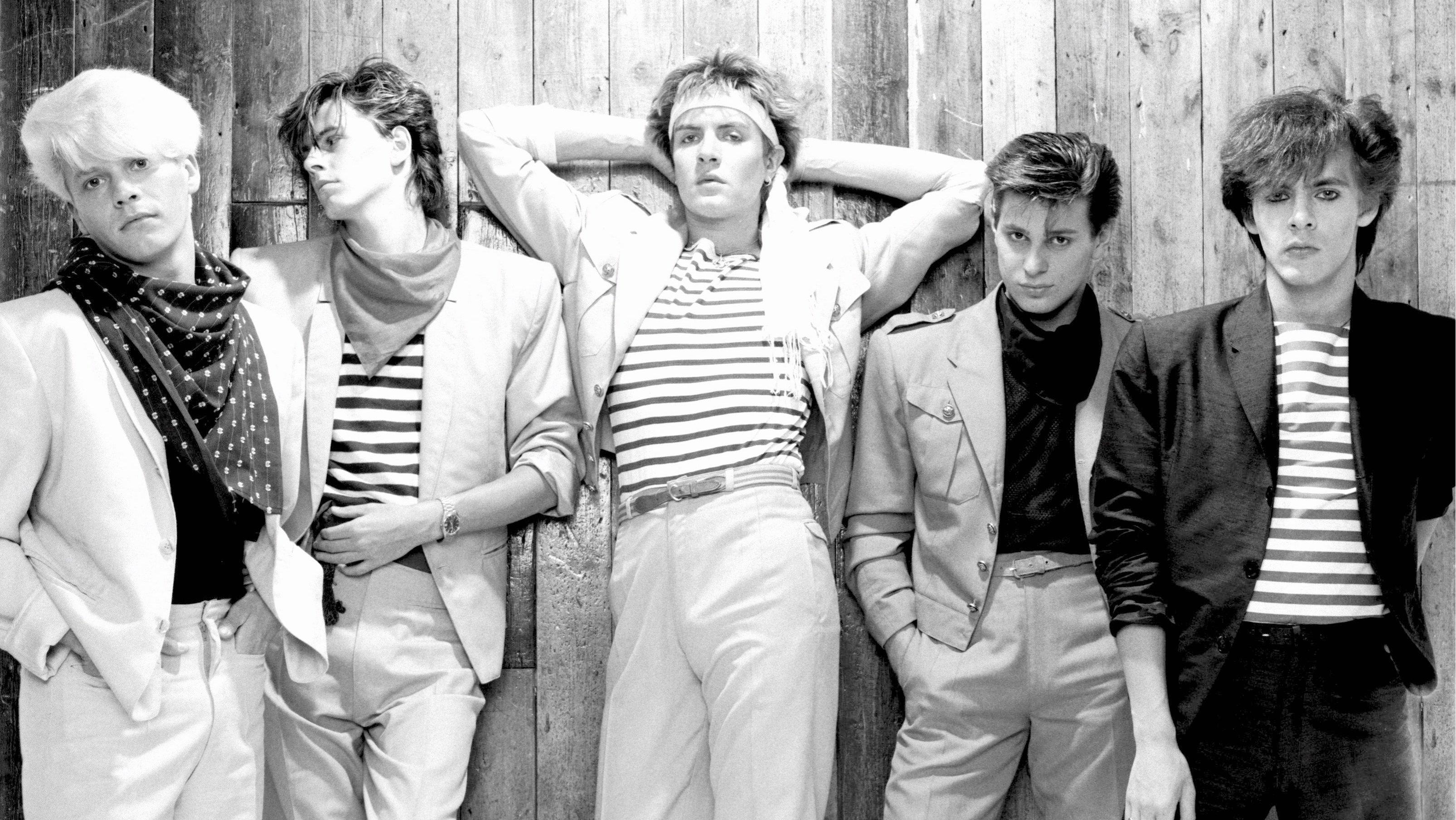 Group Portrait Of Duran Duran