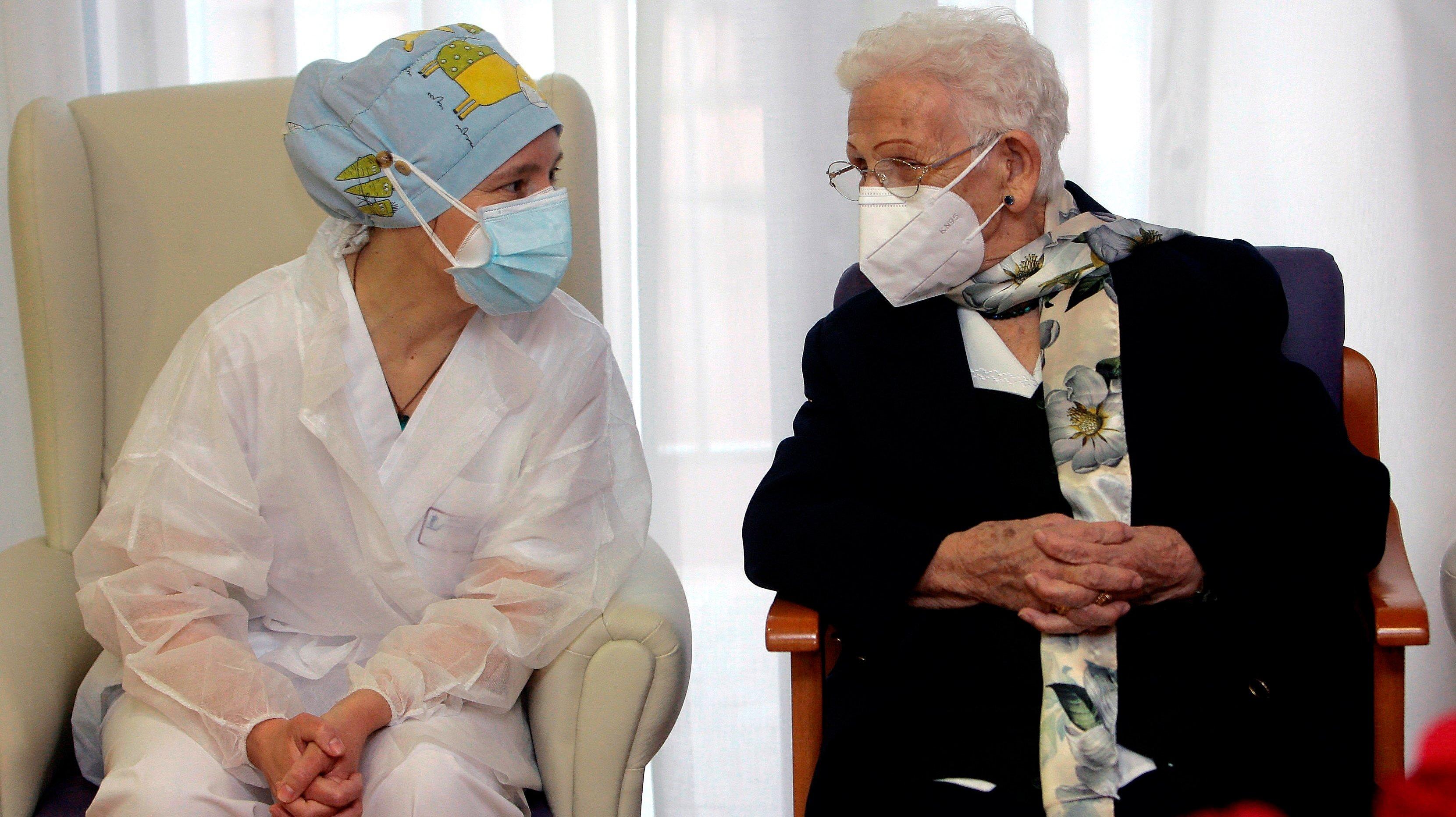 SPAIN-HEALTH-VIRUS-VACCINE