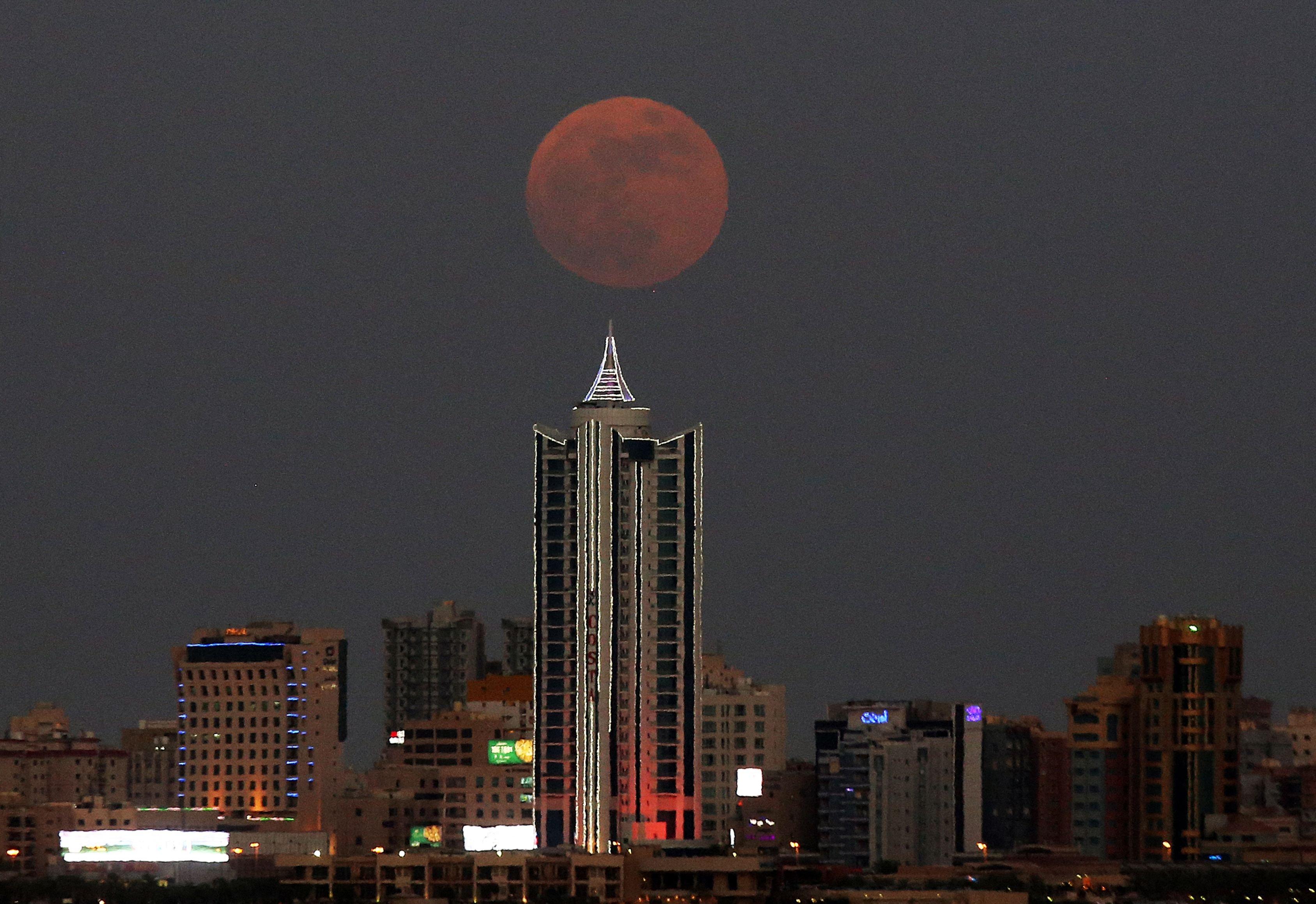 KUWAIT-ASTRONOMY-MOON