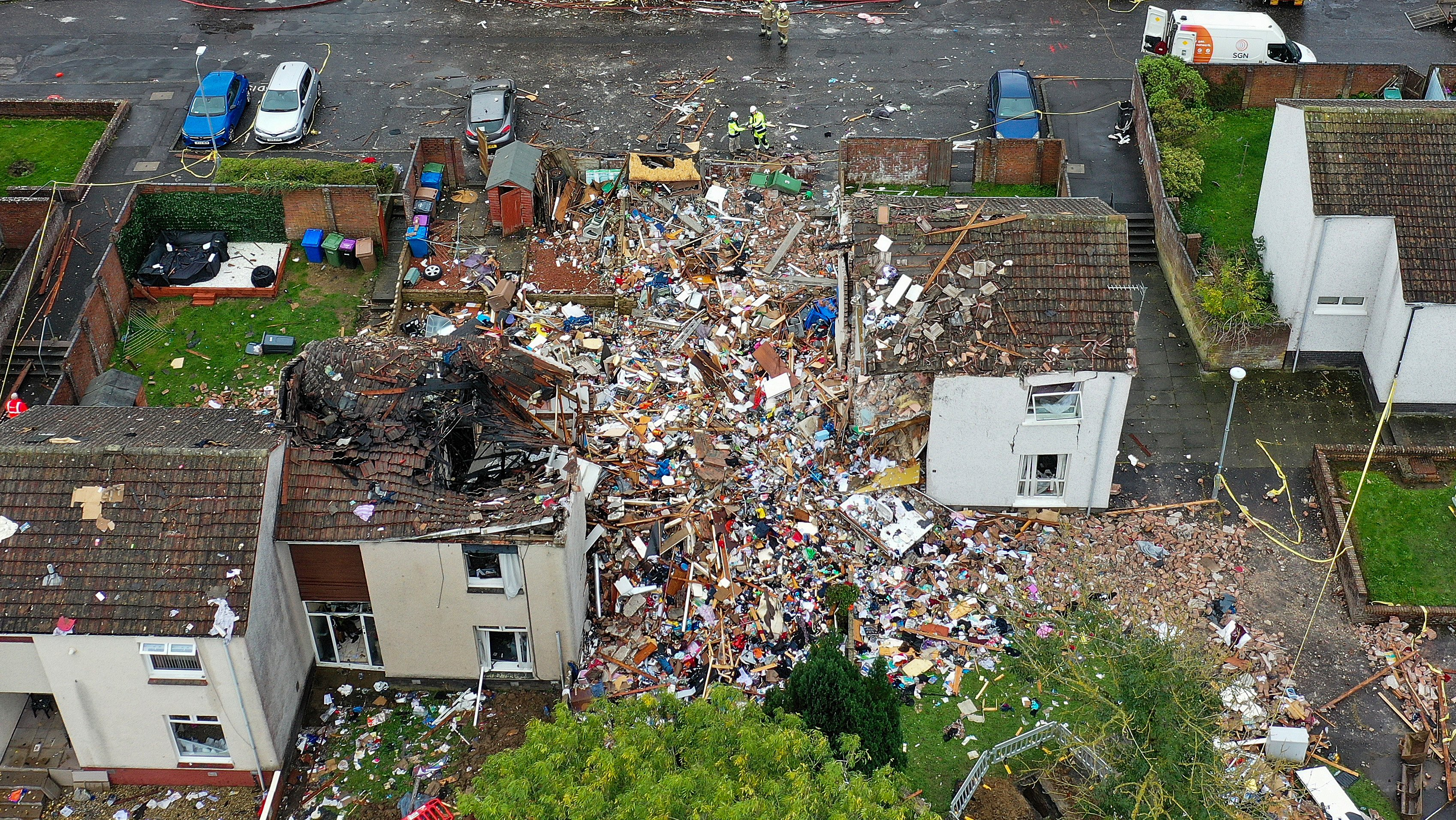 House Explosion In Ayr