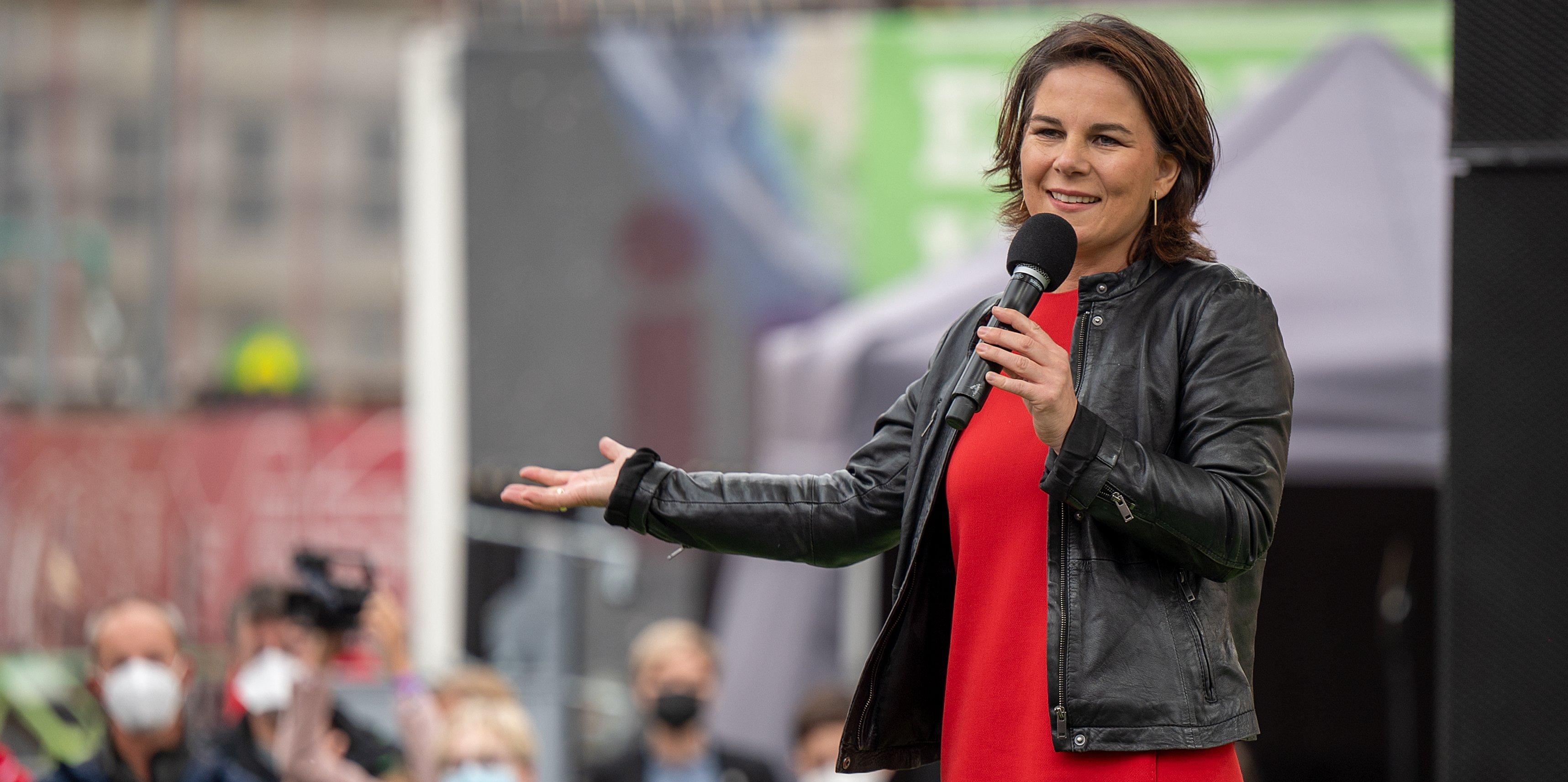 Greens close election campaign - Baerbock in Potsdam
