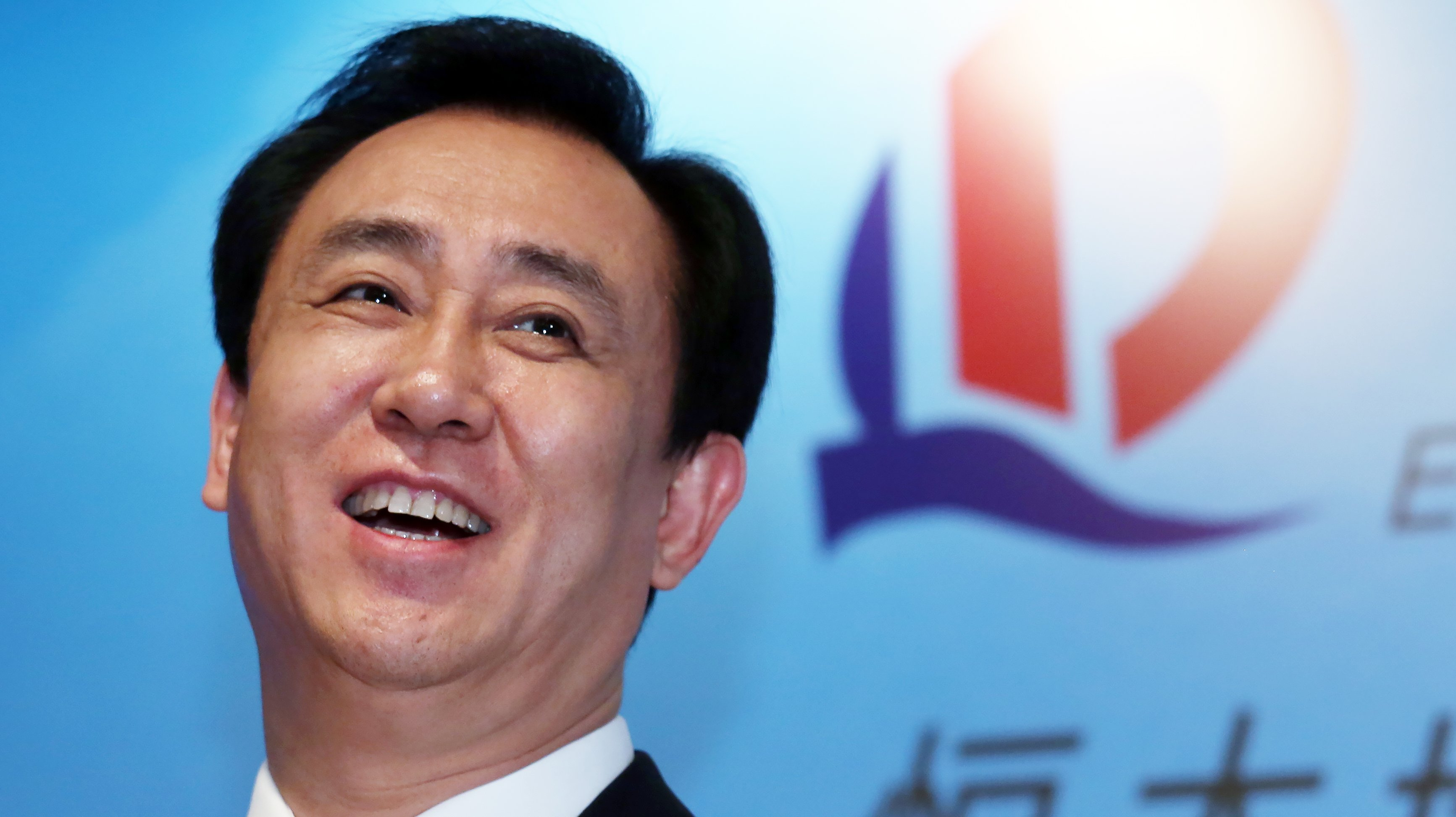 Evergrande Real Estate Group Chairman of the Board Hui Ka-yan attends Evergrande Real Estate result announcement at the JW Marriott in Admiralty. 29MAR16 SCMP/ Nora Tam
