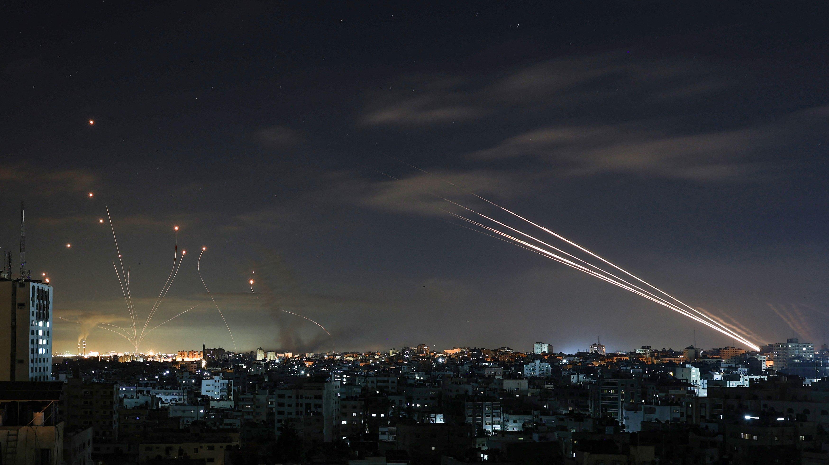 TOPSHOT-PALESTINIAN-ISRAEL-CONFLICT-GAZA