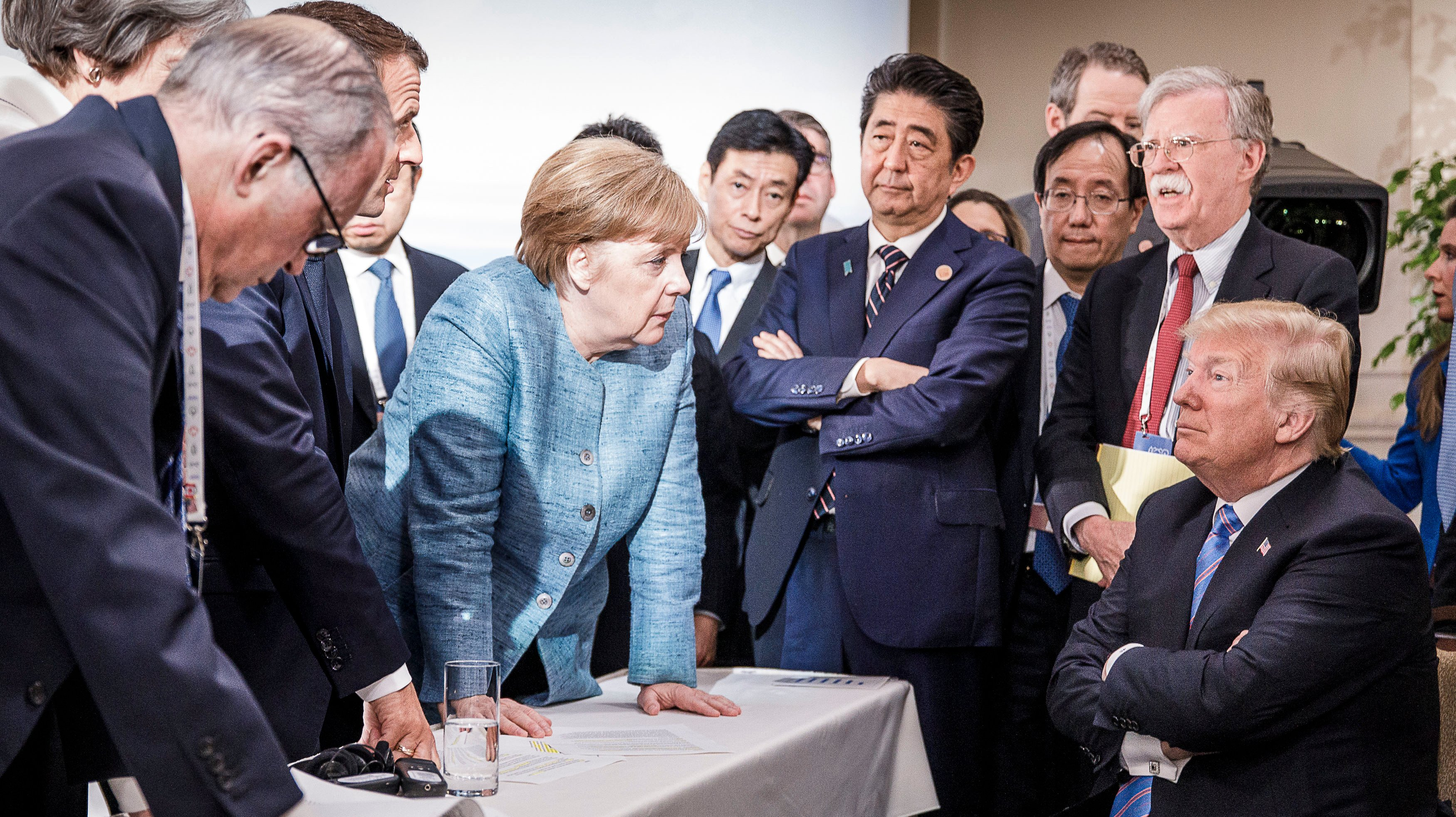 Heads Of State Attend G7 Meeting - Day Two
