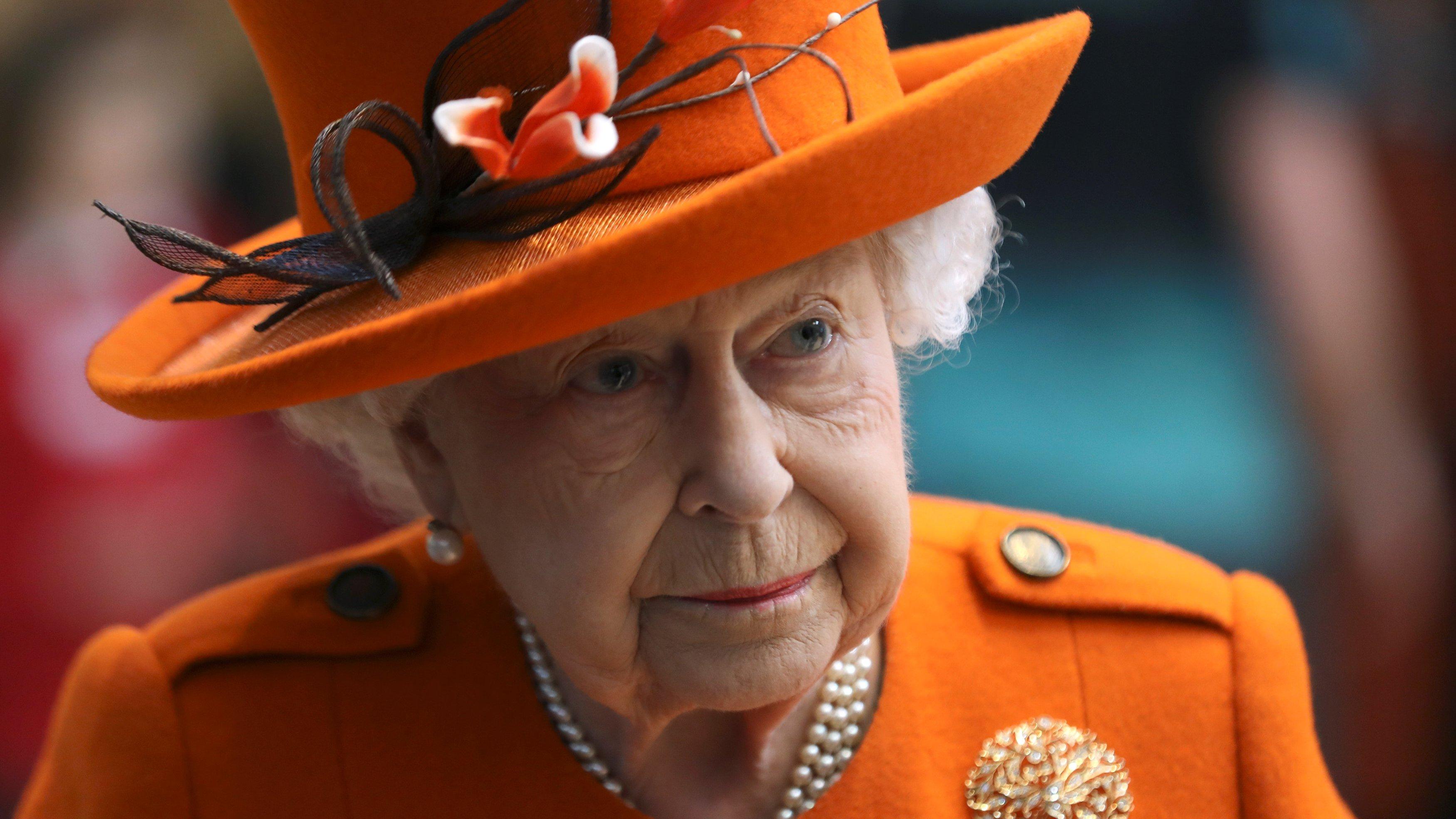 Queen Elizabeth II Visits The Science Museum