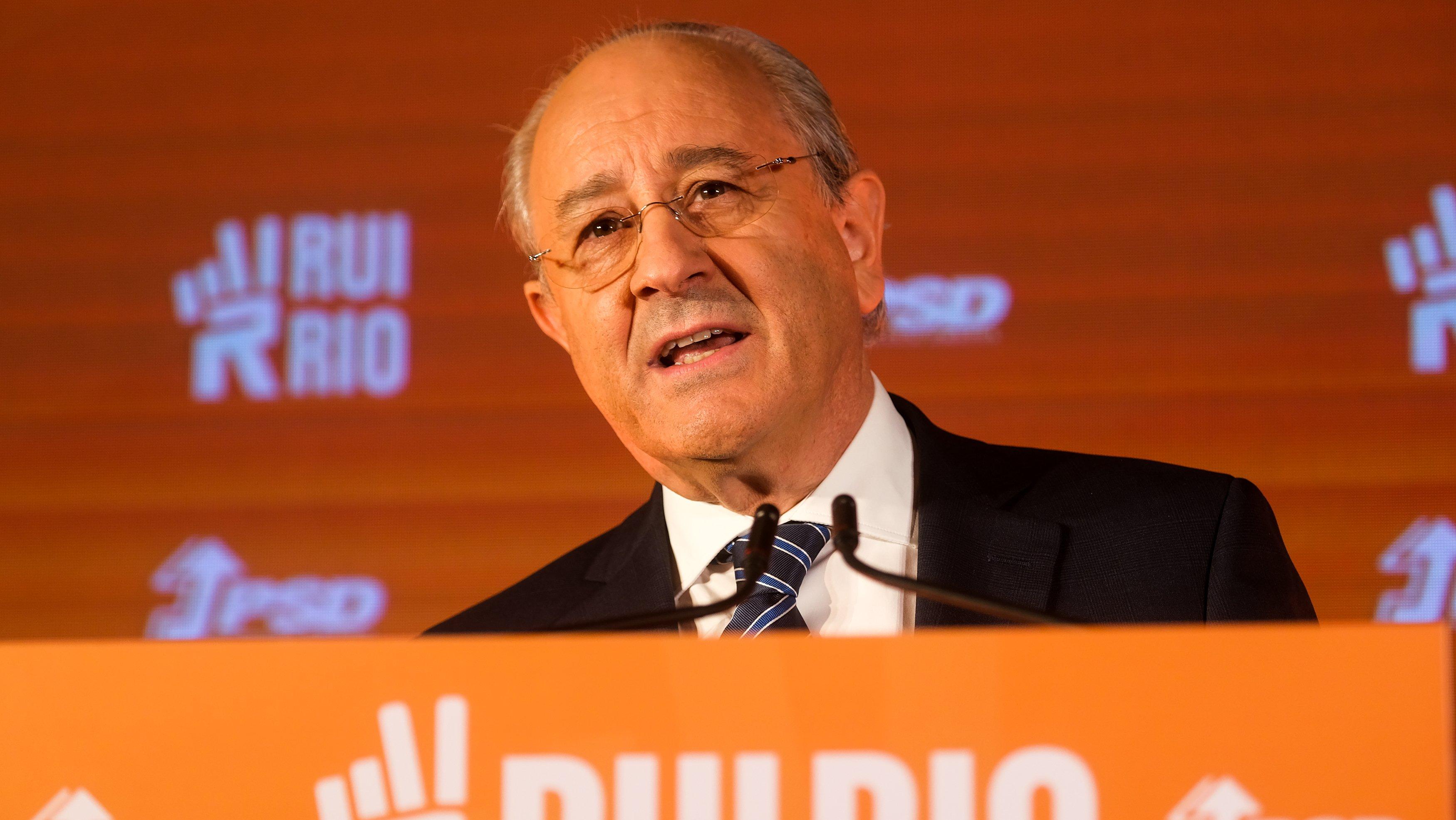 Porto, 22/10/2021 - cerimónia de recandidatura de Rui Rio à liderança do PSD (Rui Oliveira/Observador)