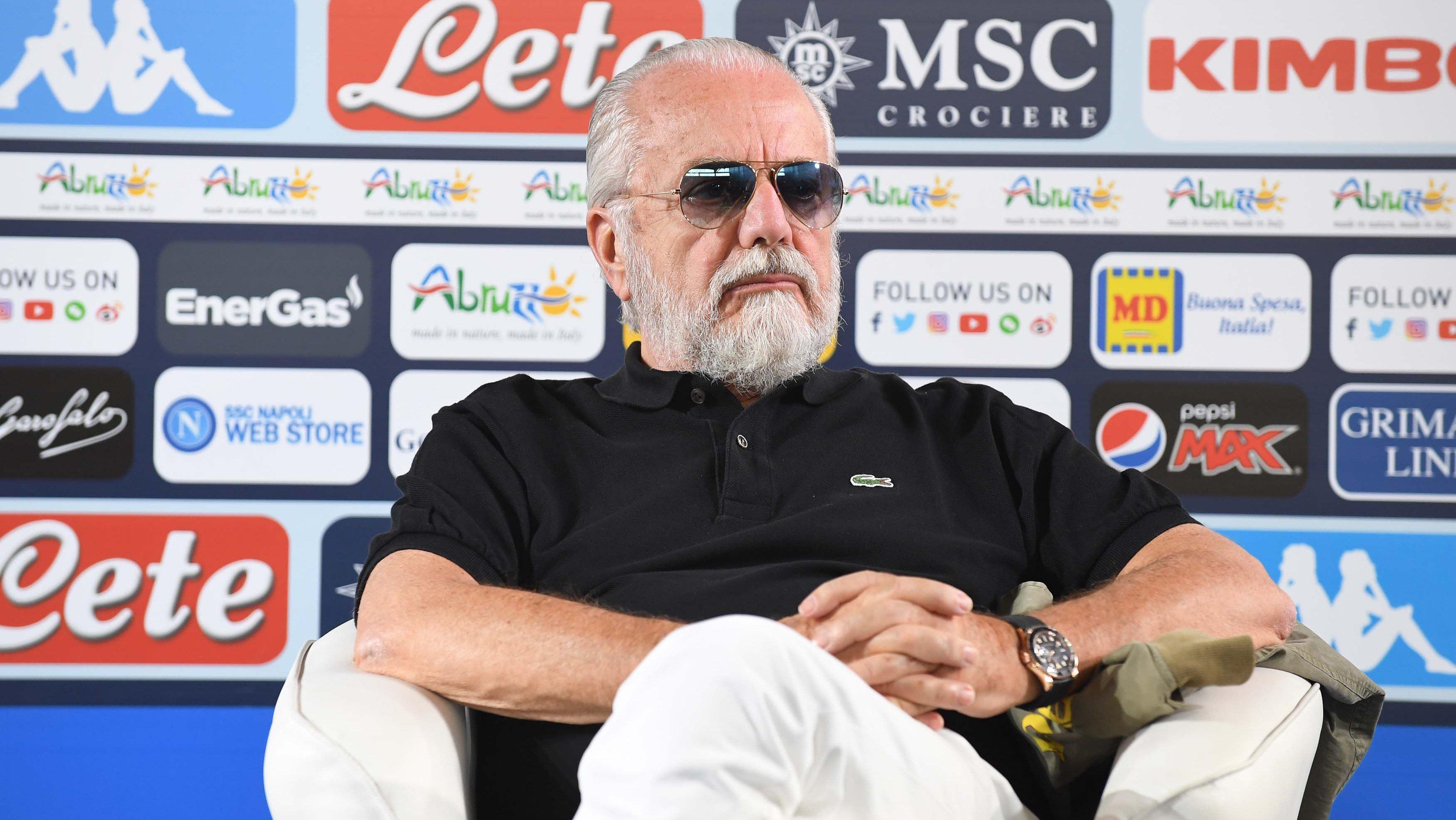 SSC Napoli Press Conference