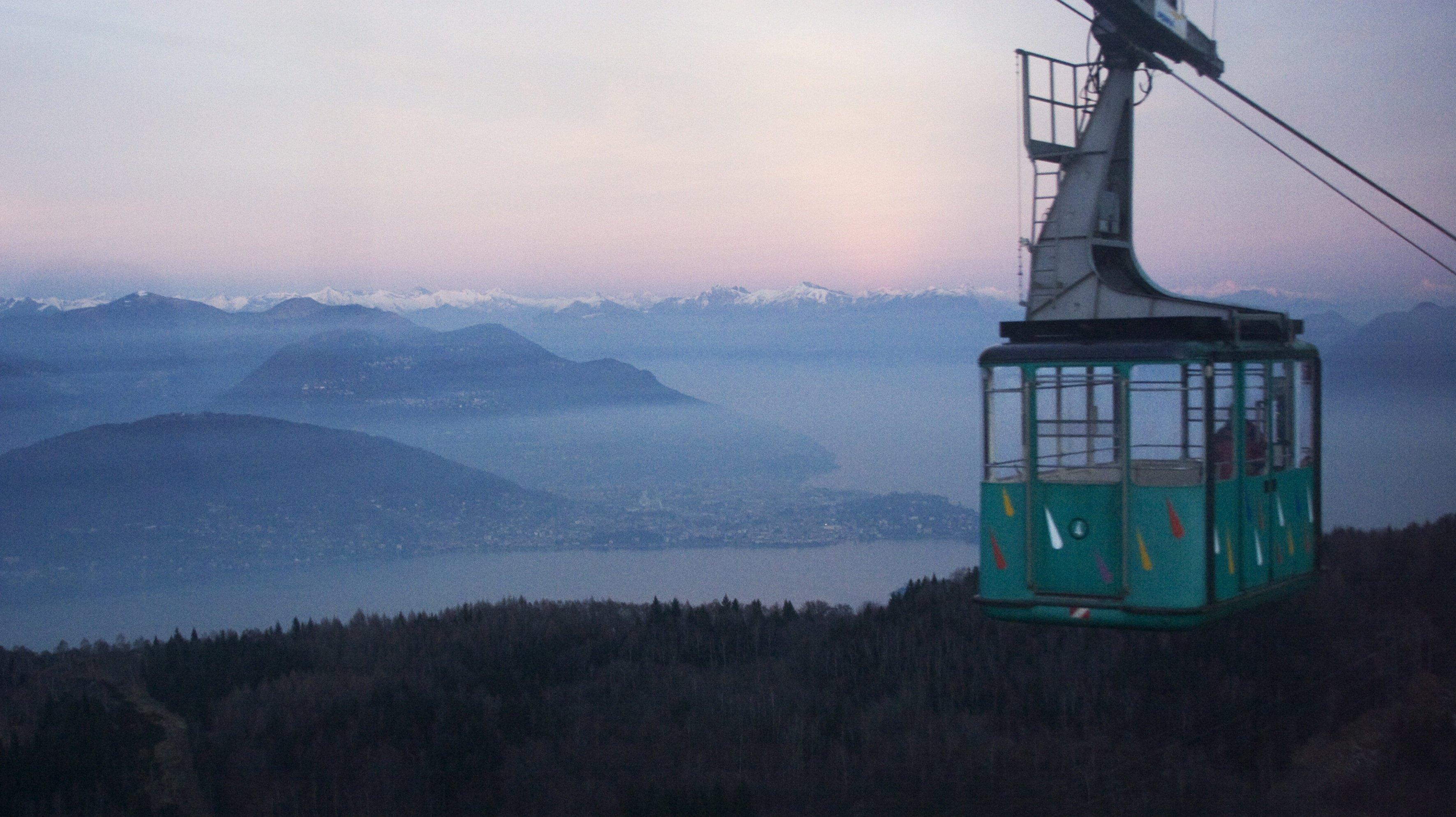 Destination Maggiore Lake In Stresa, Italy On December 29, 2006-