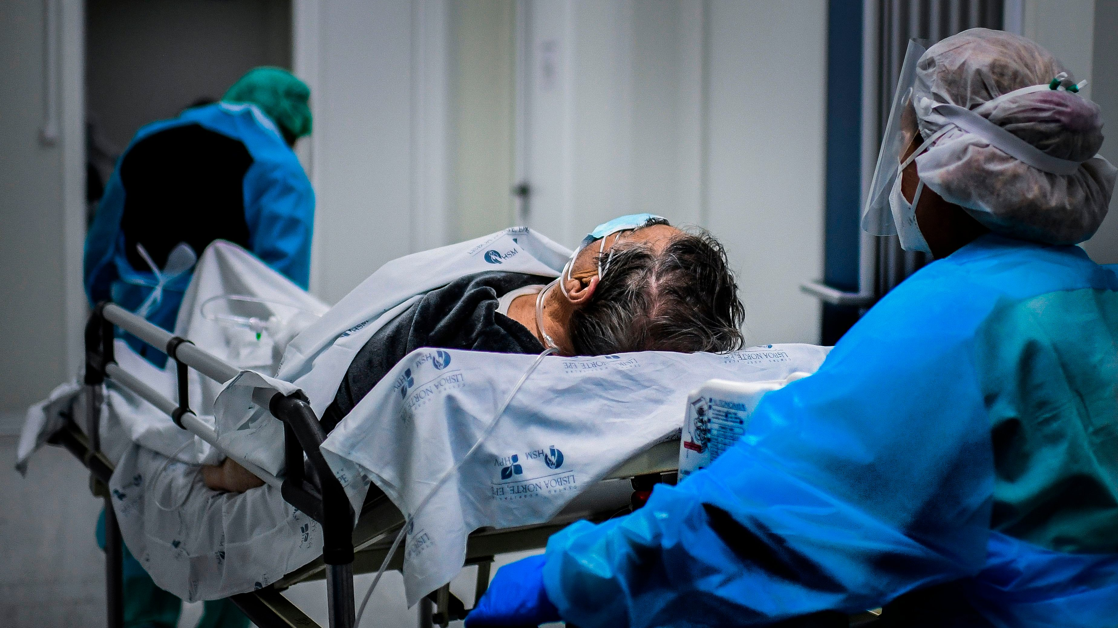 PORTUGAL-HEALTH-VIRUS-HOSPITAL