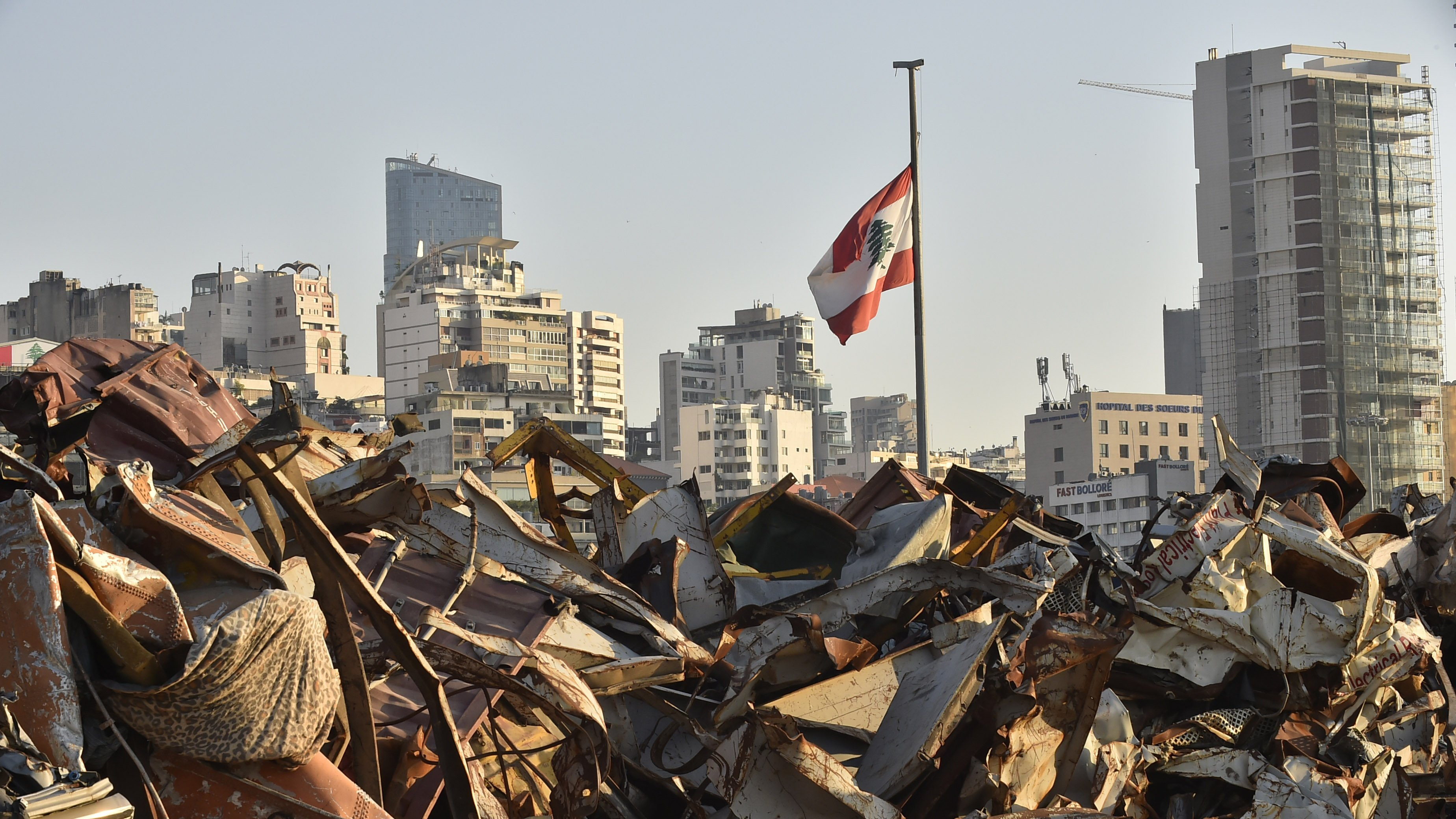 First anniversary of Beirut port explosion