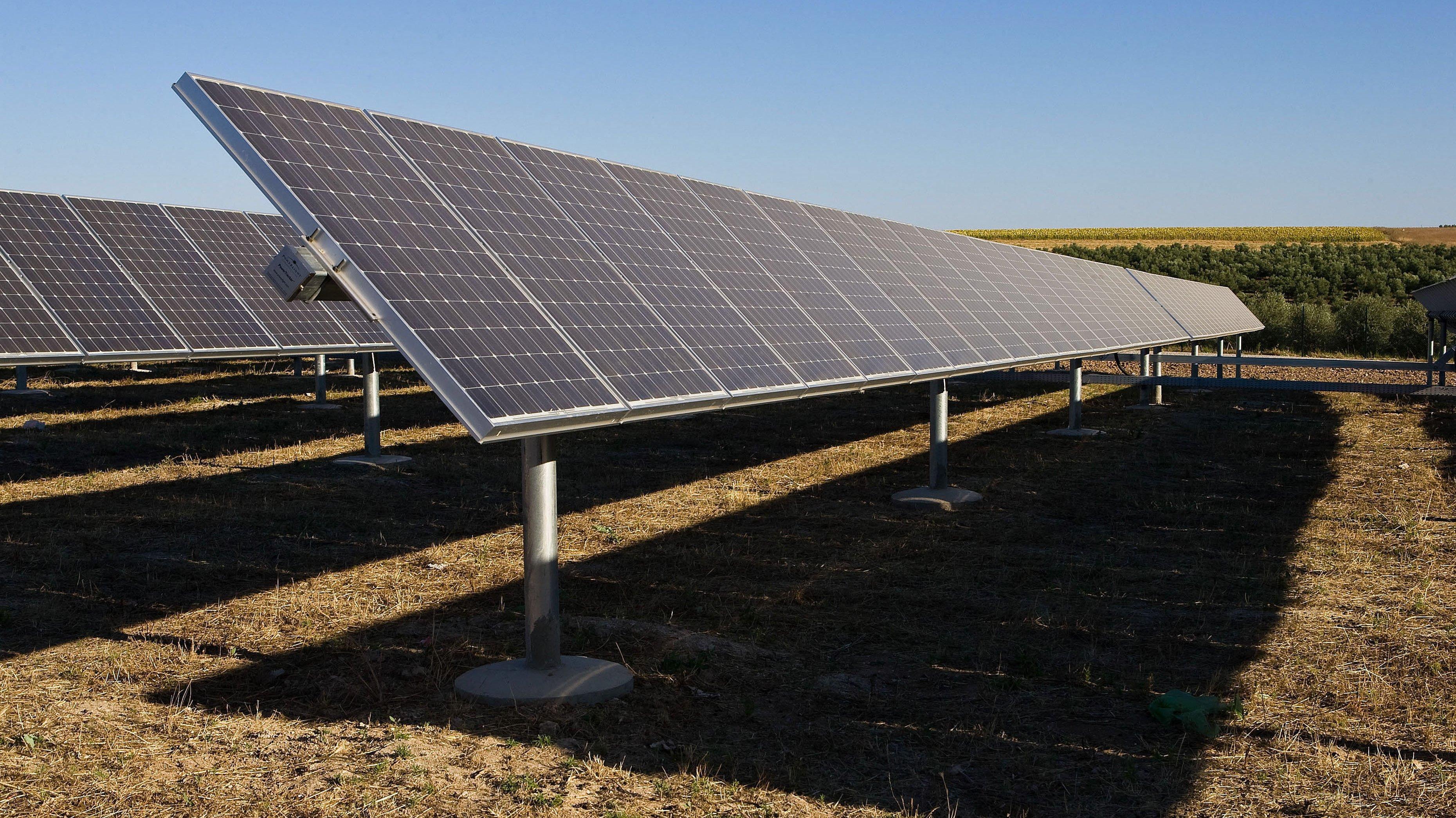 Serpa (Portugal) : Solar photovoltaic power plant