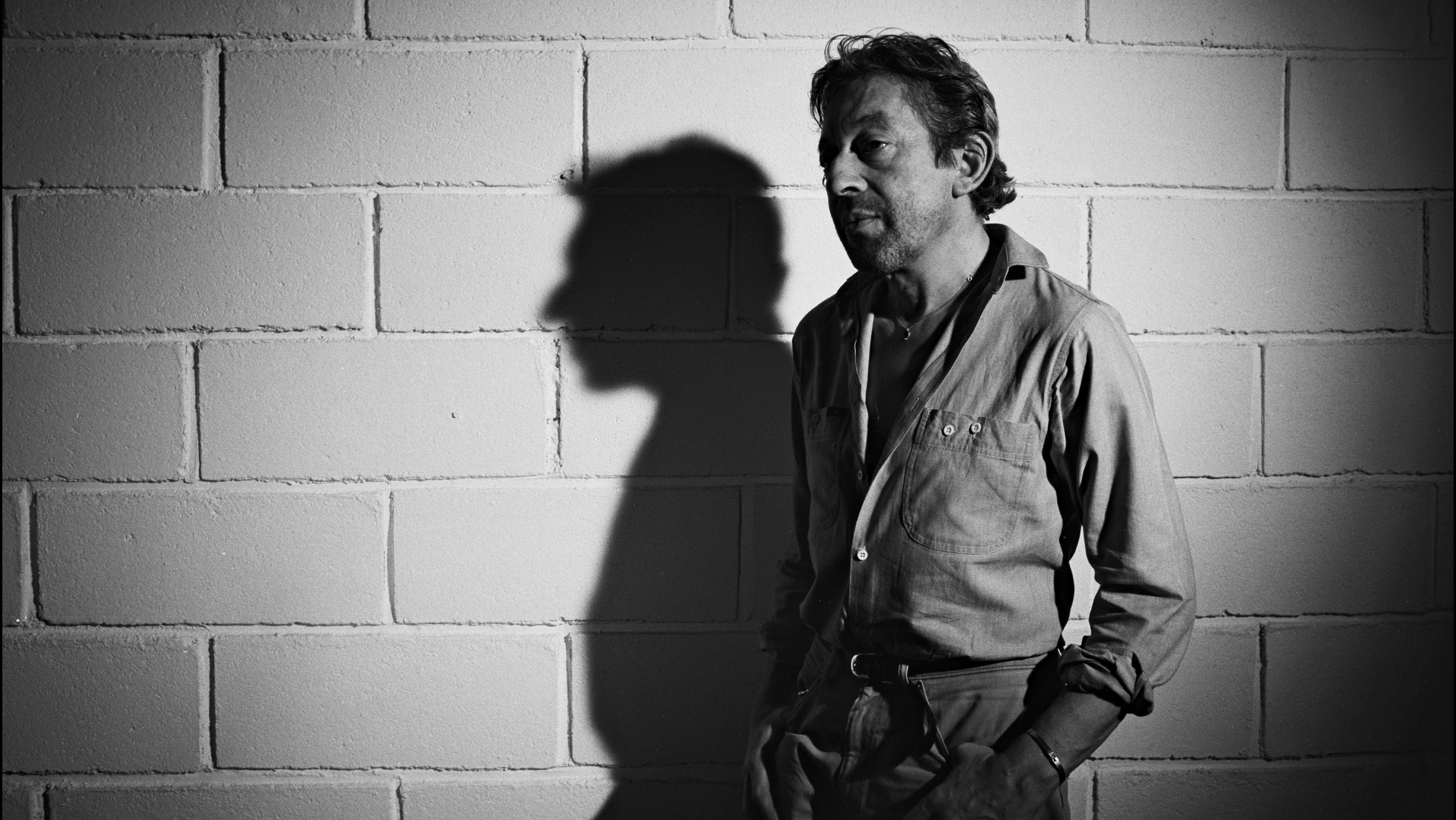 Serge Gainsbourg in France on July 10th, 1985.