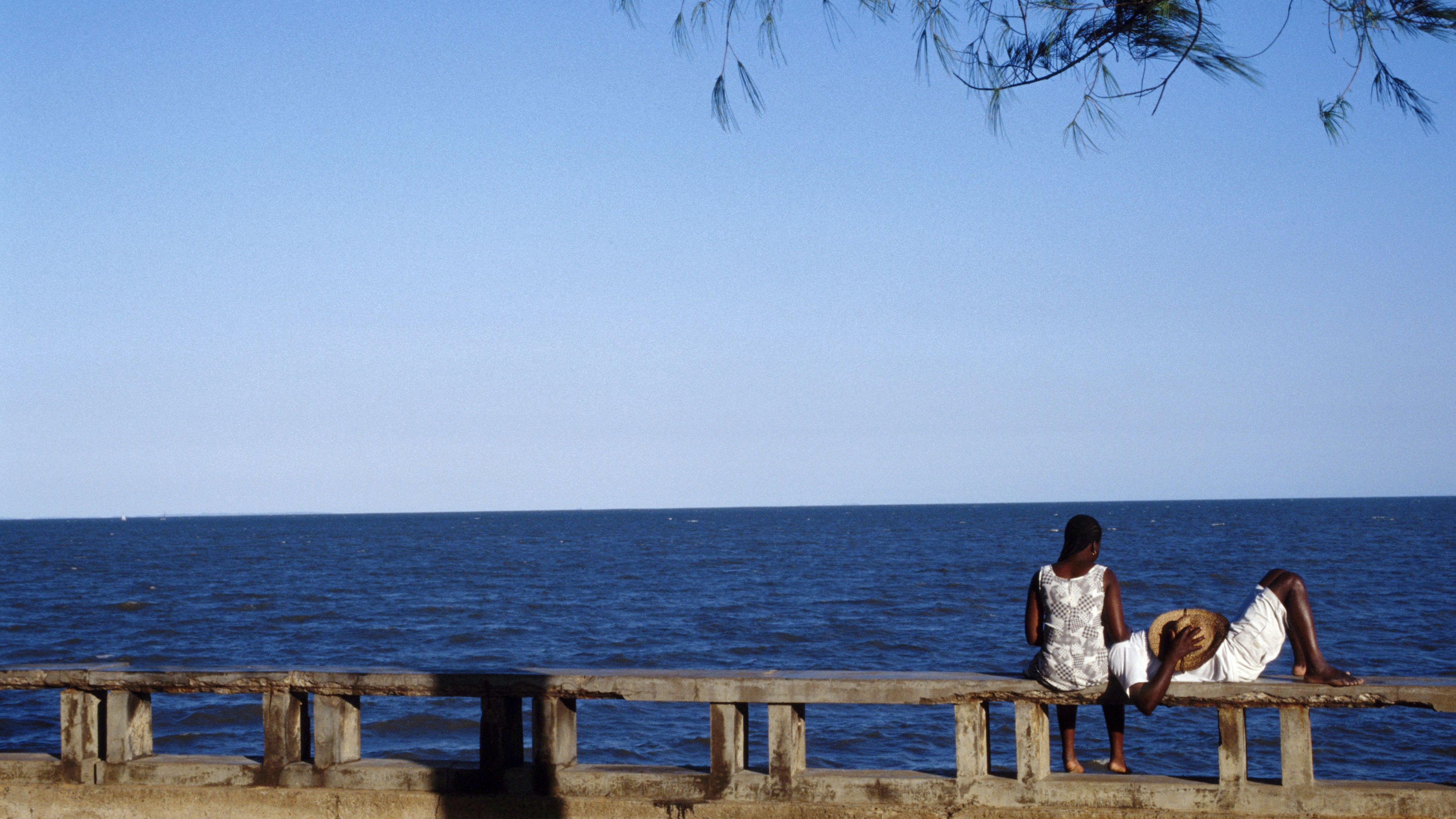 The Seaside In Playa Del Sol, Maputo , Mozambique, Africa -
