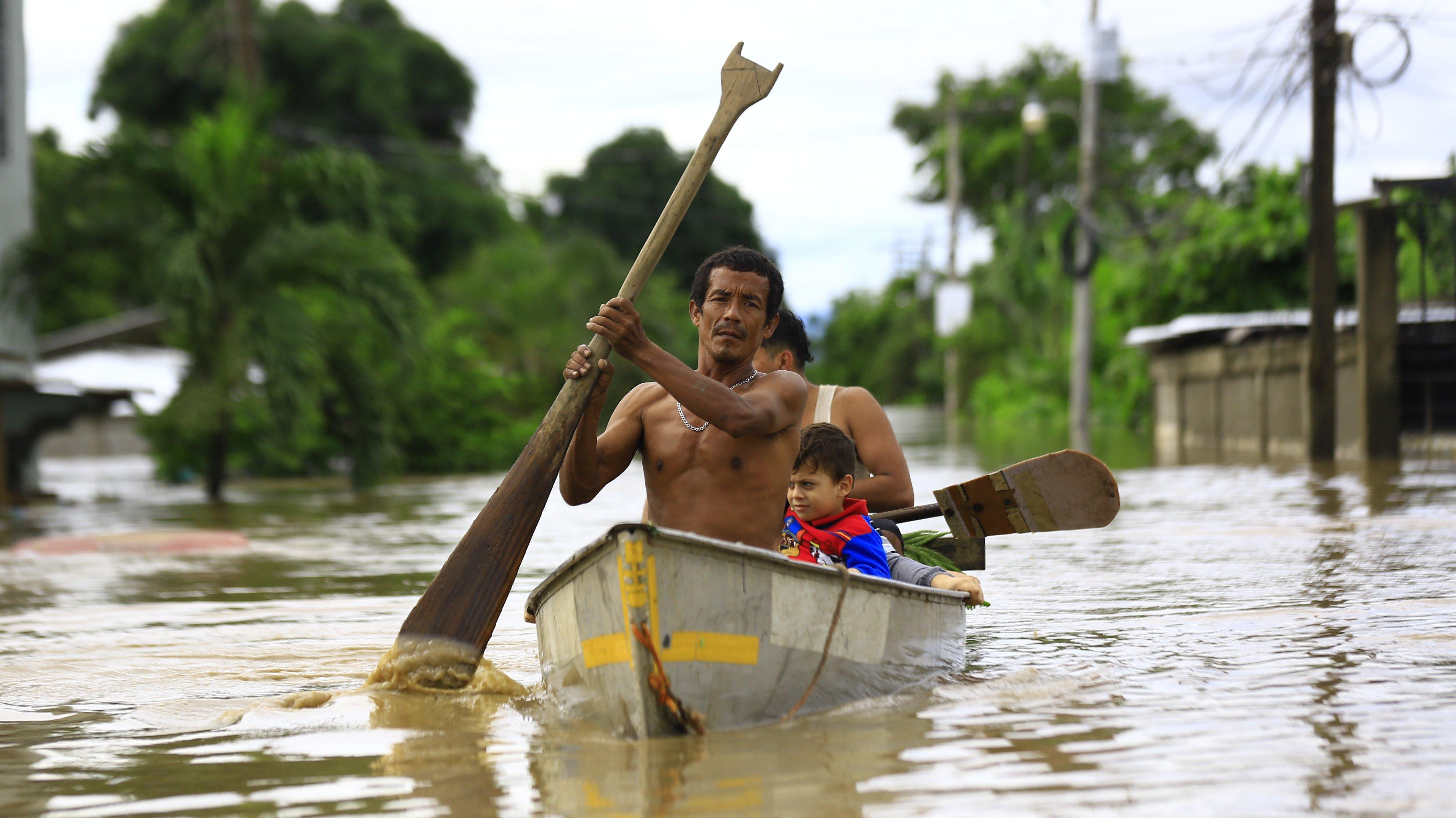 "Tropical Storm ""Eta"" - Honduras"