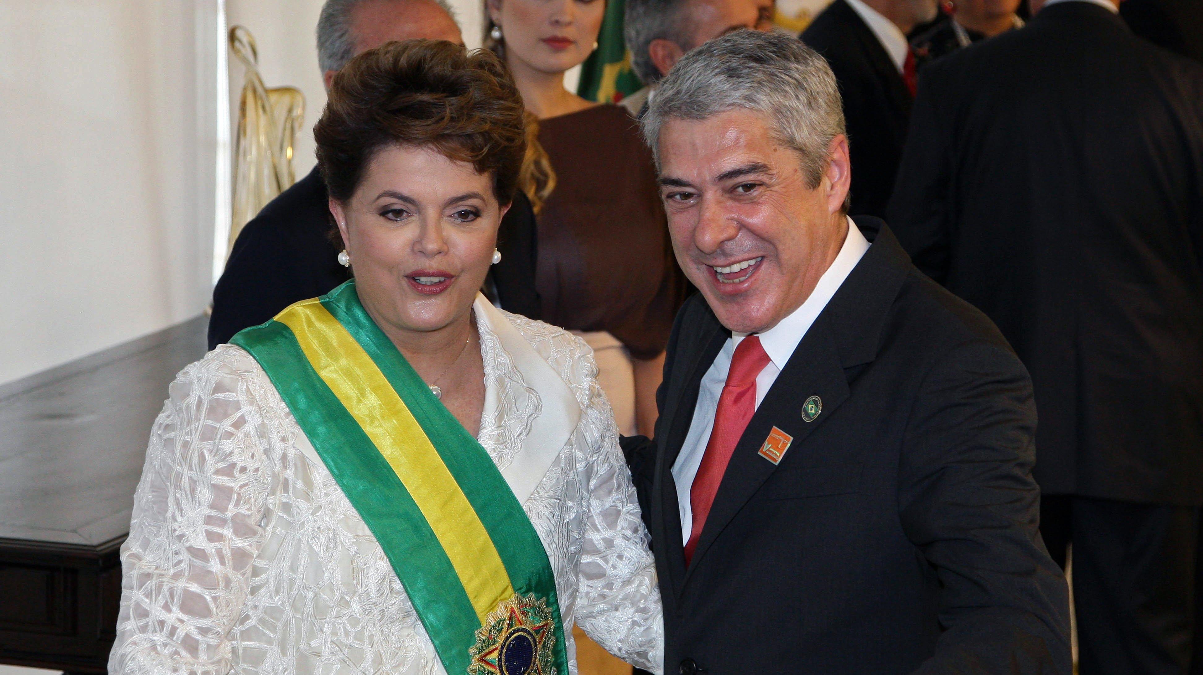 Newly sworn in Brazilian President Dilma